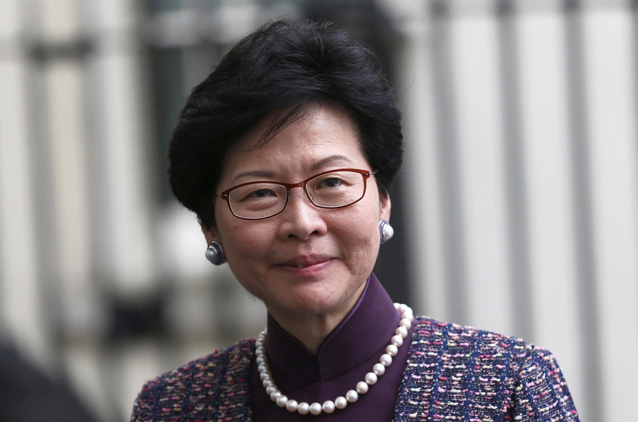 Hong Kong | Carrie Lam visita Macau entre hoje e amanhã