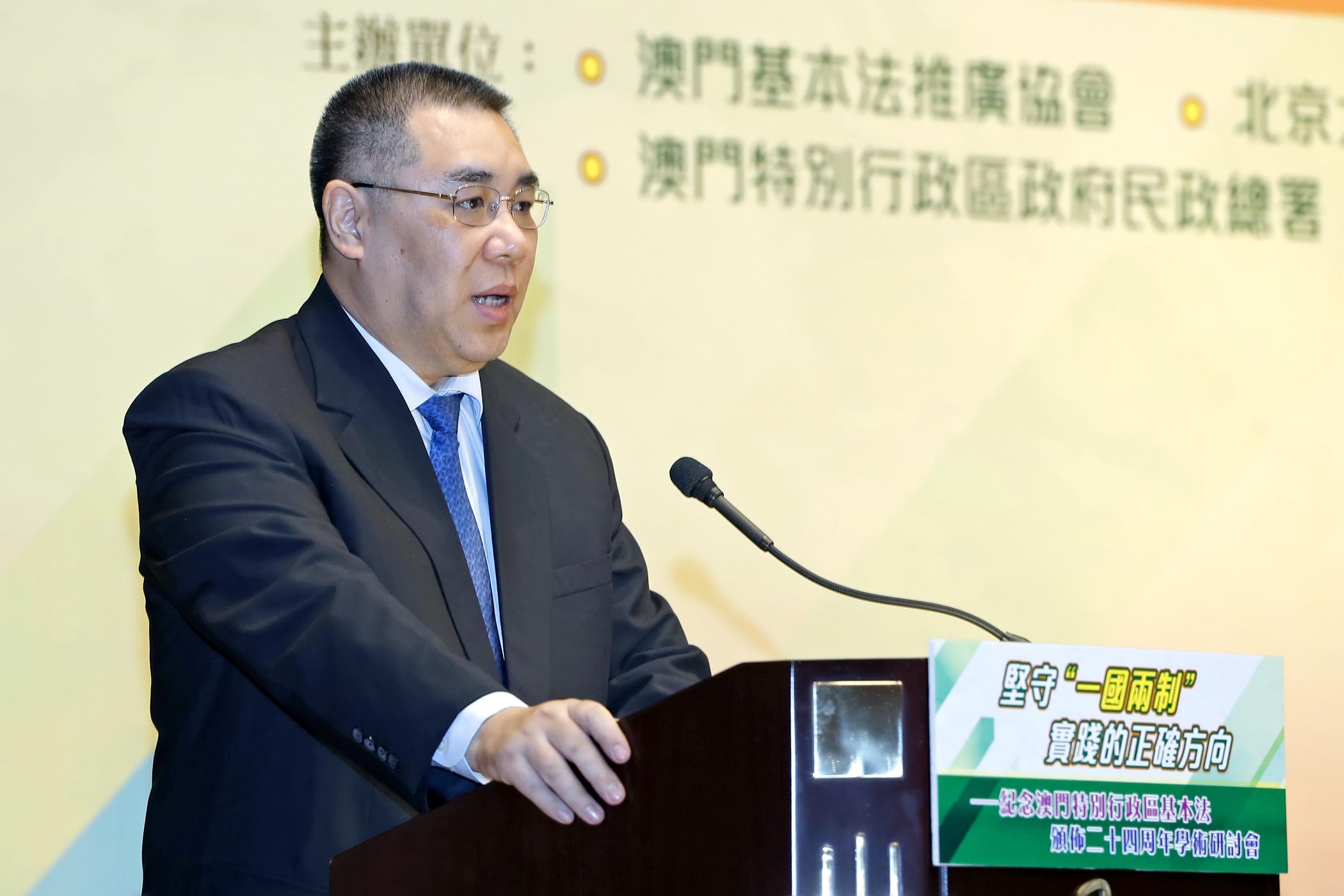 """Recrutamento   Chui Sai On diz estar """"triste"""" com processo do Instituto Cultural"""