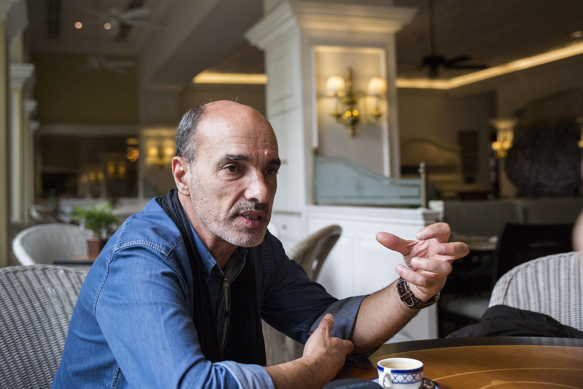 """José Manuel Rosendo, repórter:""""O jornalista não é um vendedor de sabonetes"""""""
