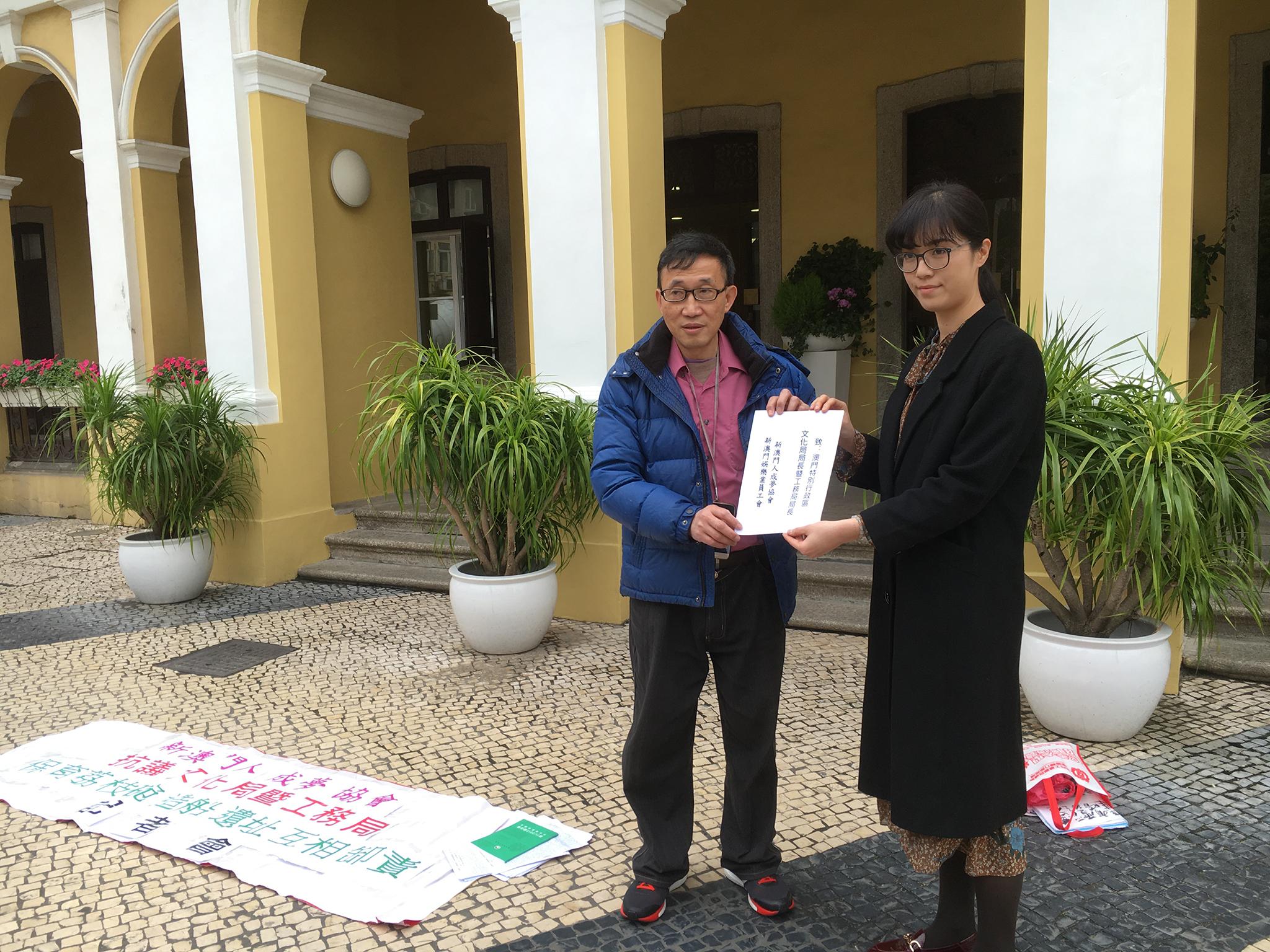 Lai Chi Vun | Demolição dos estaleiros origina protesto junto do Instituto Cultural