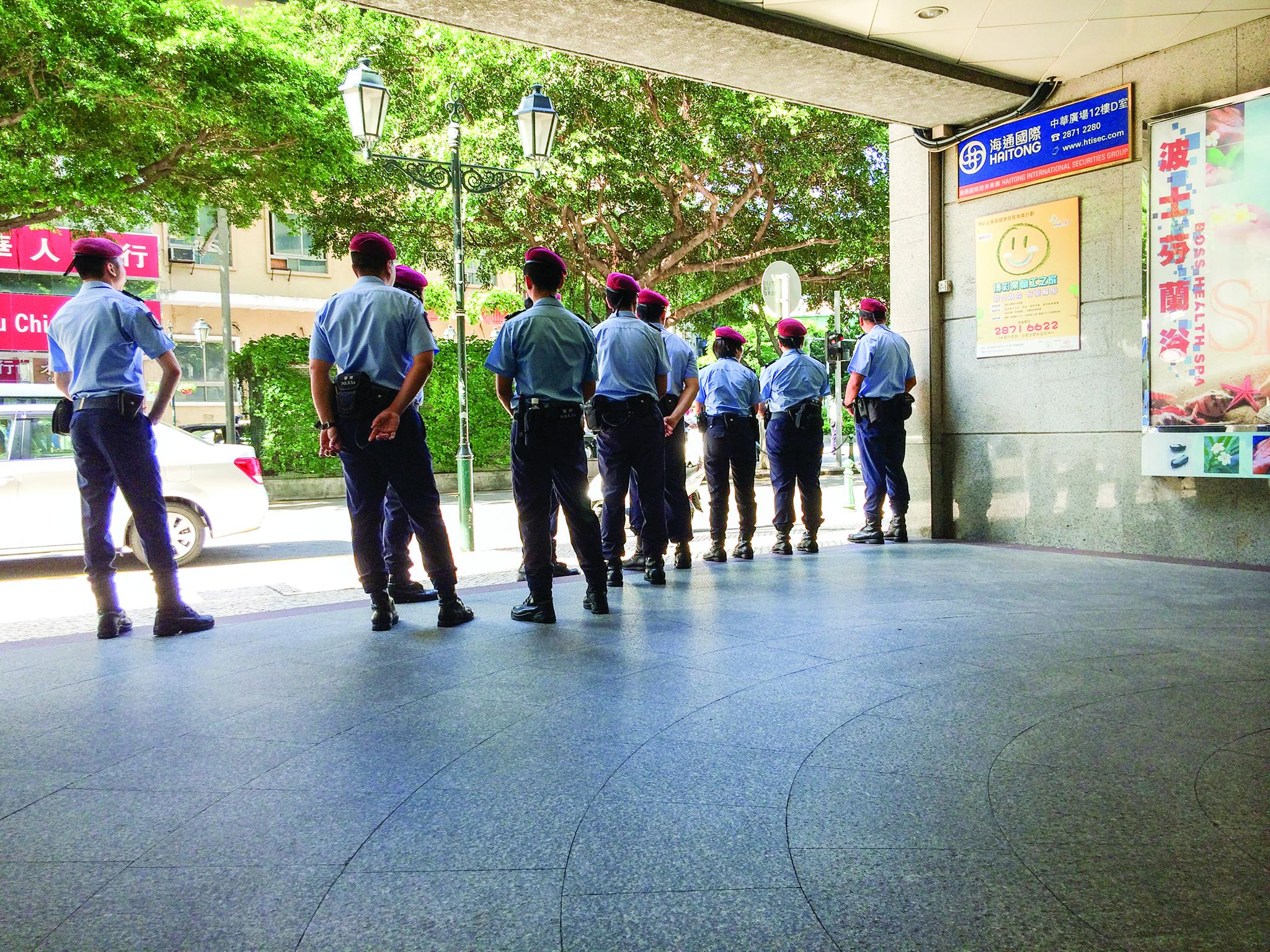 Apresentadas 70 queixas contra forças e serviços de segurança de Macau em 2016