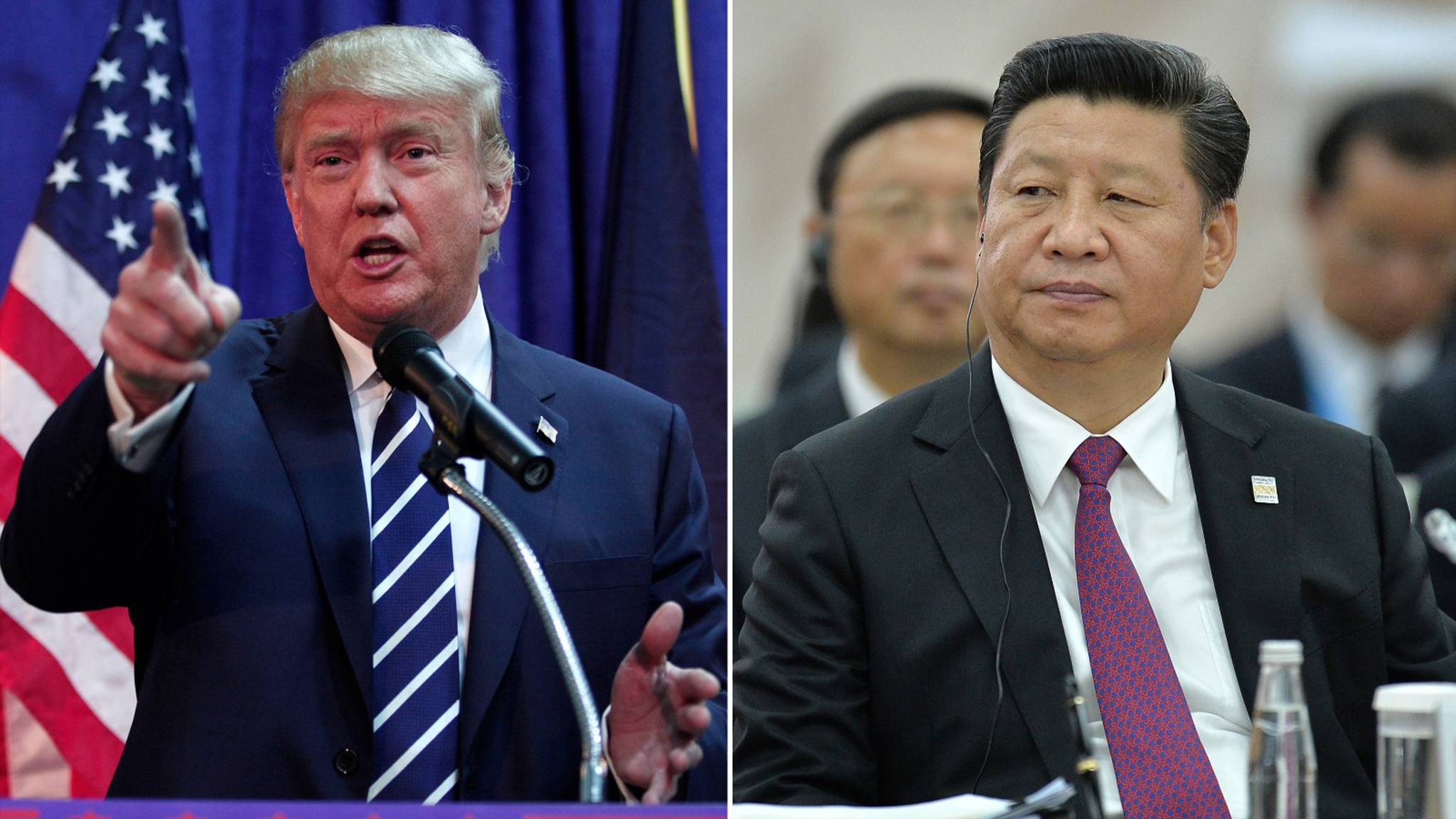 Xi Jinping e Trump reúnem-se num clima de relações dúbias