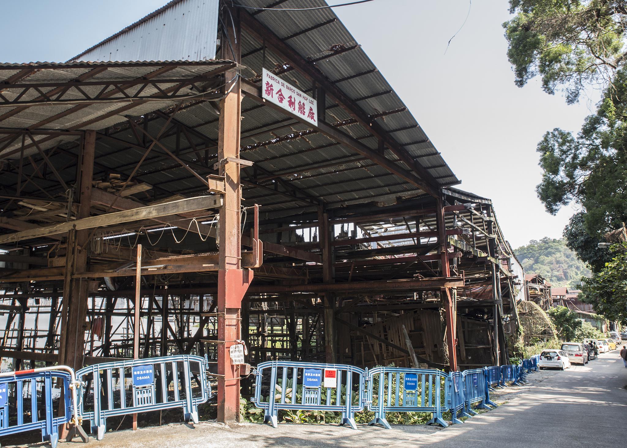 Lai Chi Vun | Deputado Wu Chou Kit quer estaleiros parcialmente preservados