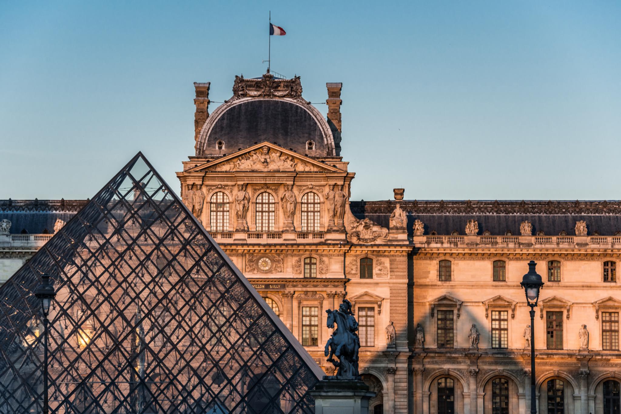 Museu do Louvre com quebra de 72% de visitantes em 2020