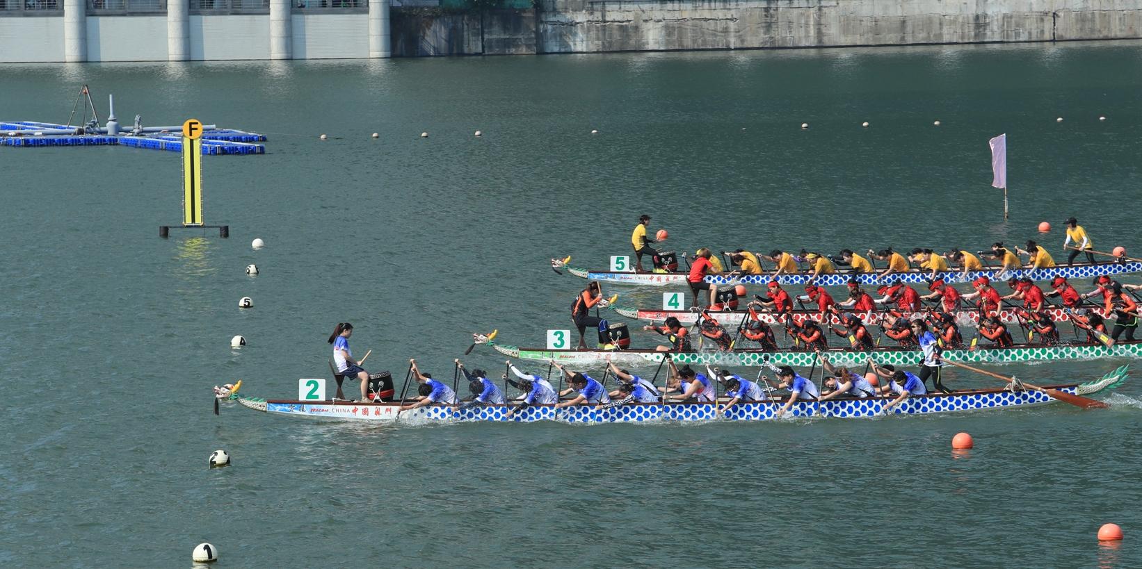 Regata de Barcos-Dragão só para equipas locais