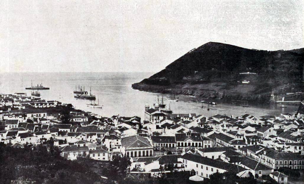 Pedro Alexandrino da Cunha na Ilha Terceira