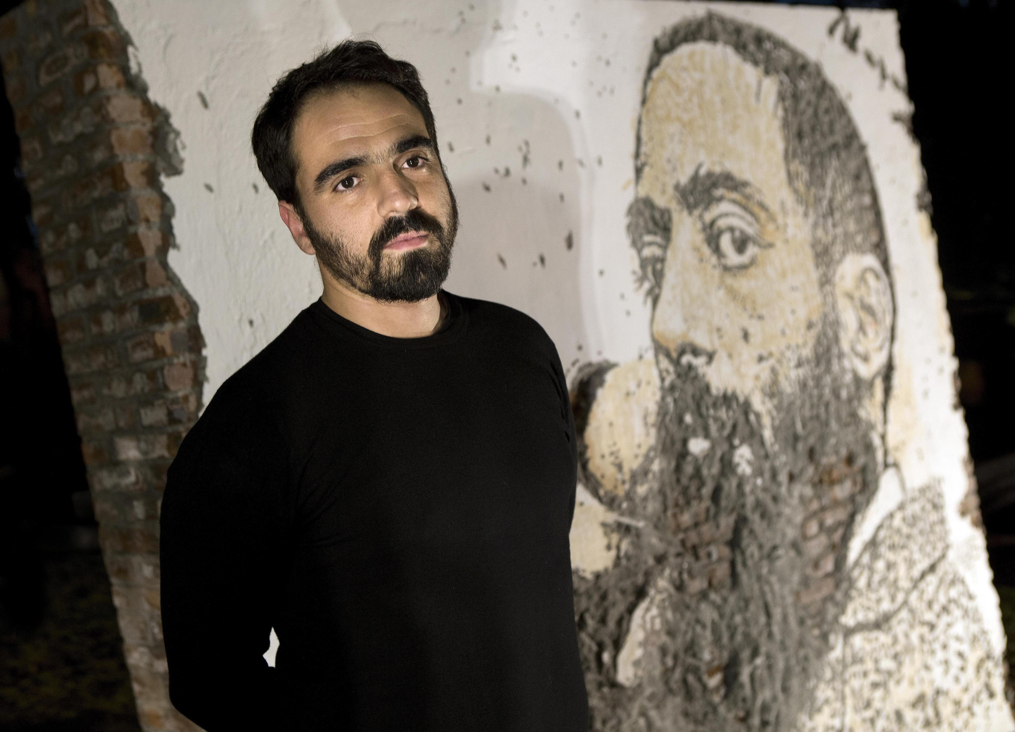"""Alexandre Farto aka Vhils, artista:""""Gosto de trabalhar com as forças do caos"""""""
