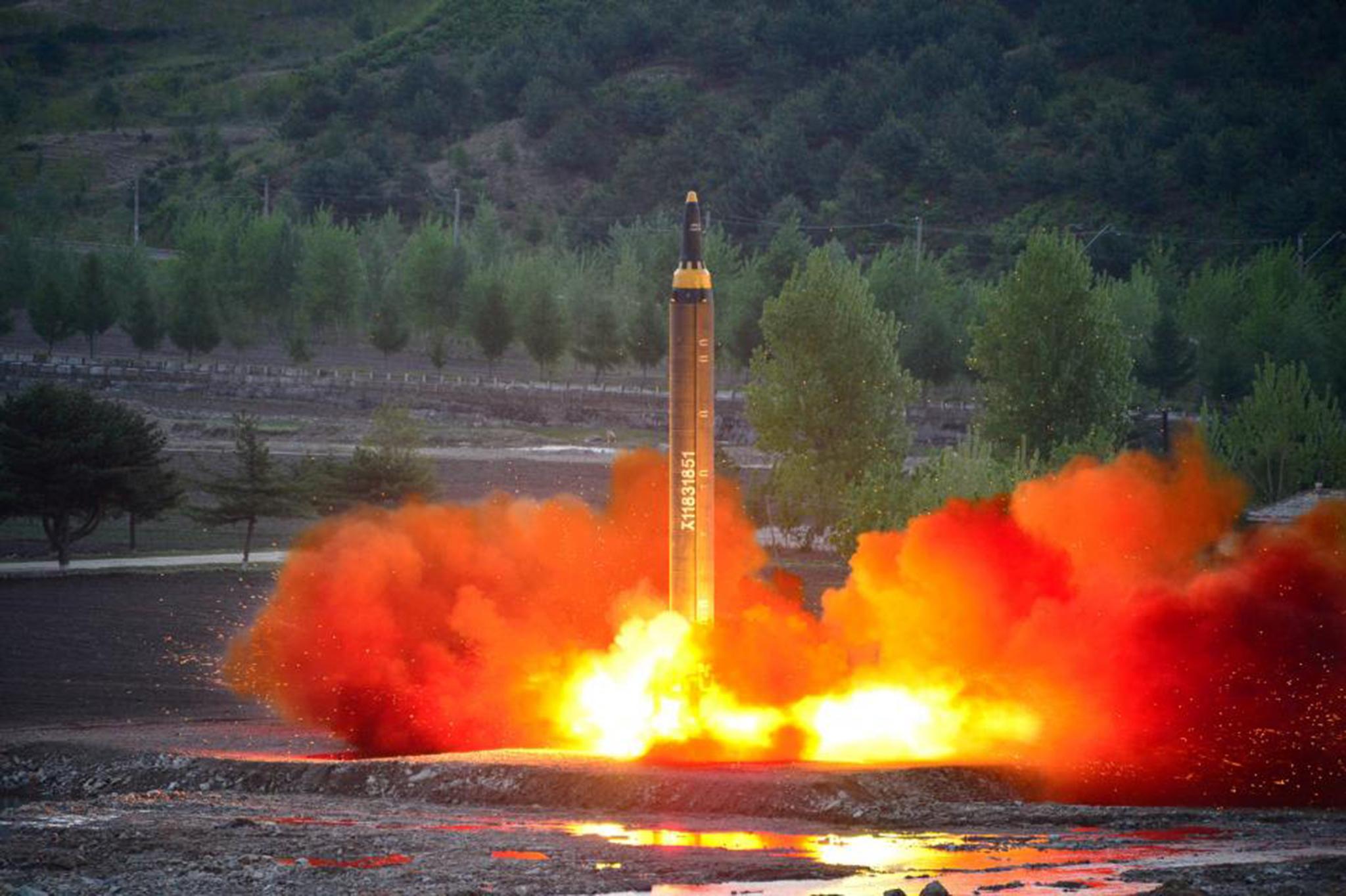 Coreia do Norte repudia condenação da ONU pelo último míssil
