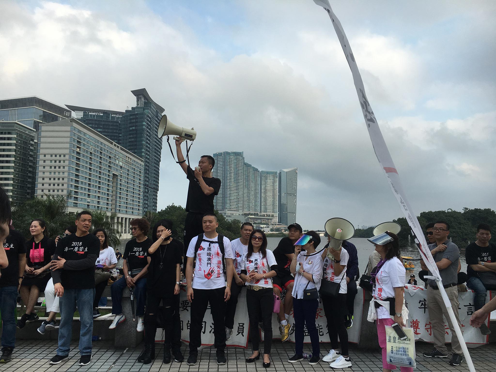 1º Maio | Investidores do Pearl Horizon dominaram protestos