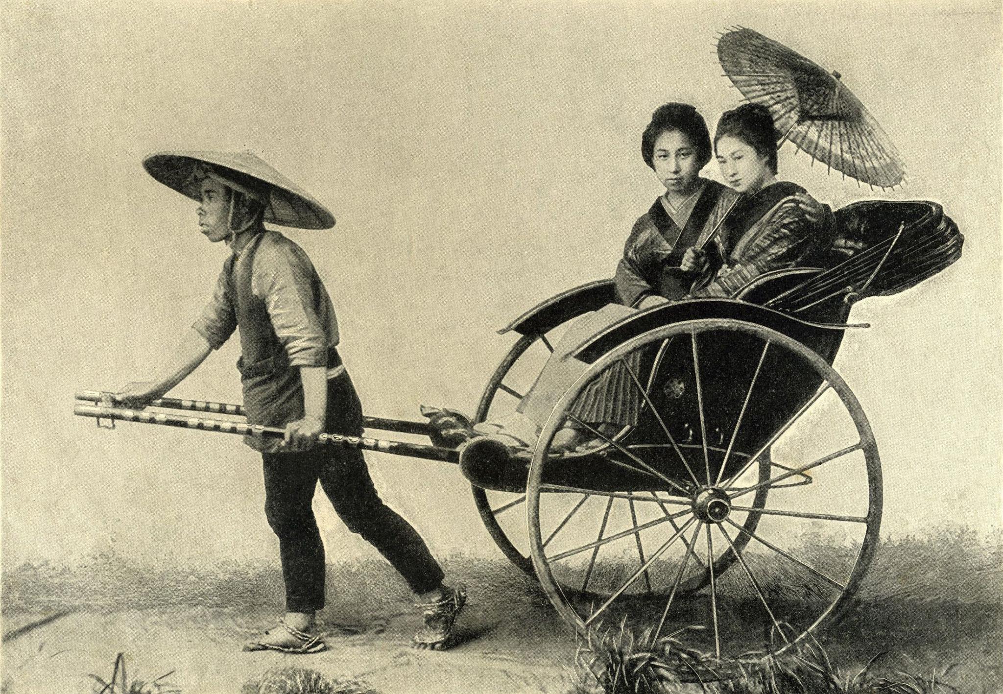 Riquexós, meio de transporte de Macau