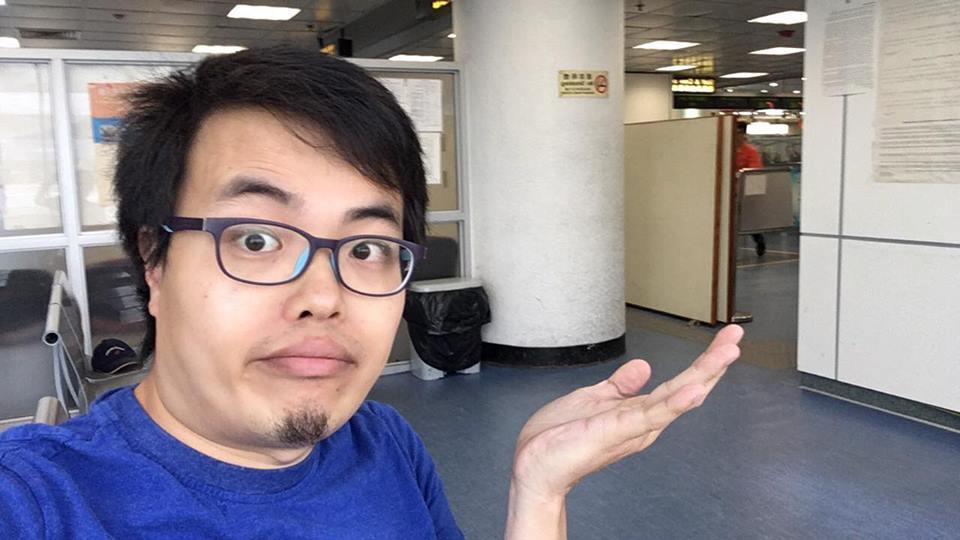 Scott Chiang barrado à entrada de Hong Kong
