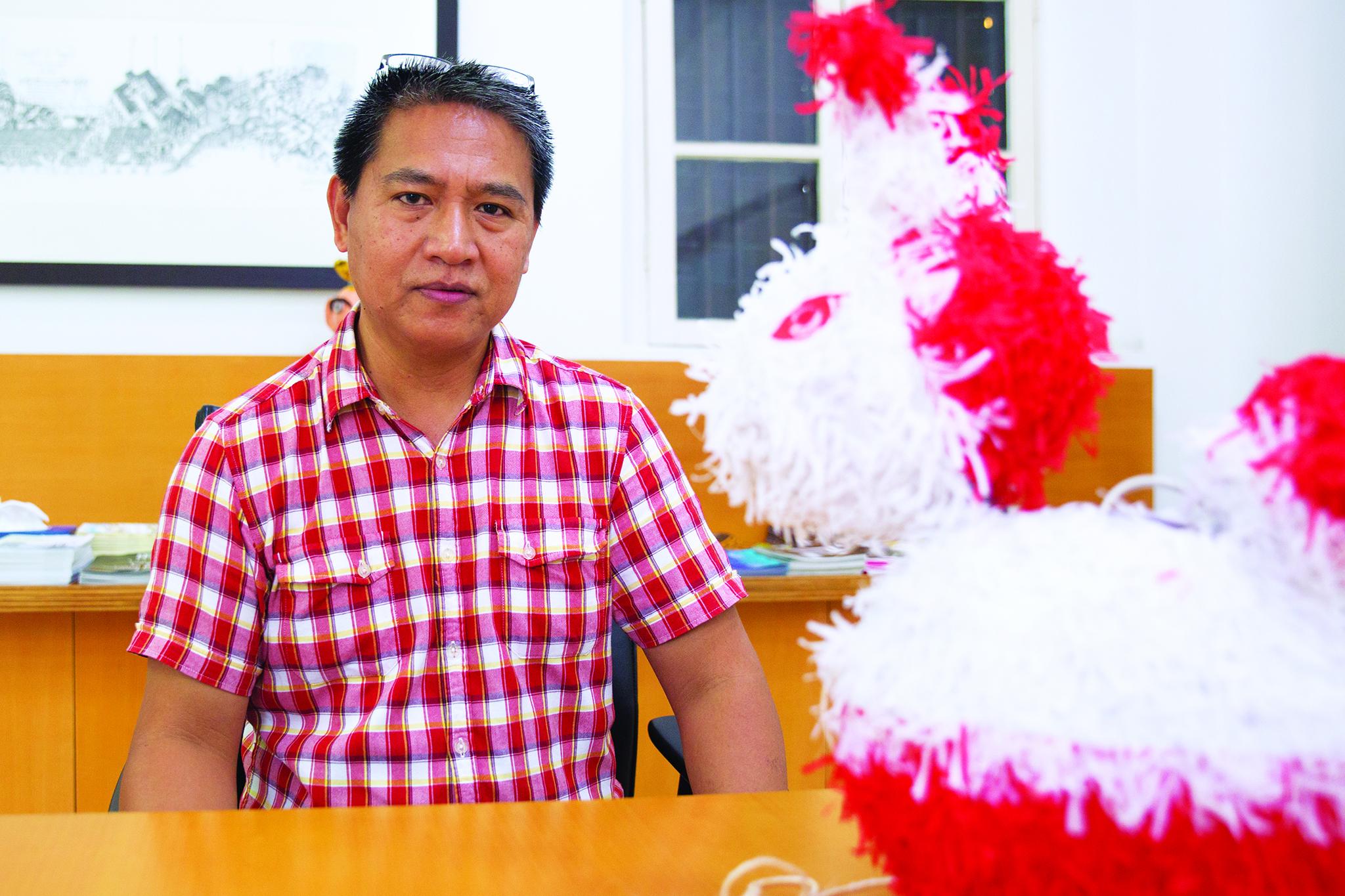 Alfredo Ceyna, artesão de lanternas de coelhos |Manter viva a tradição