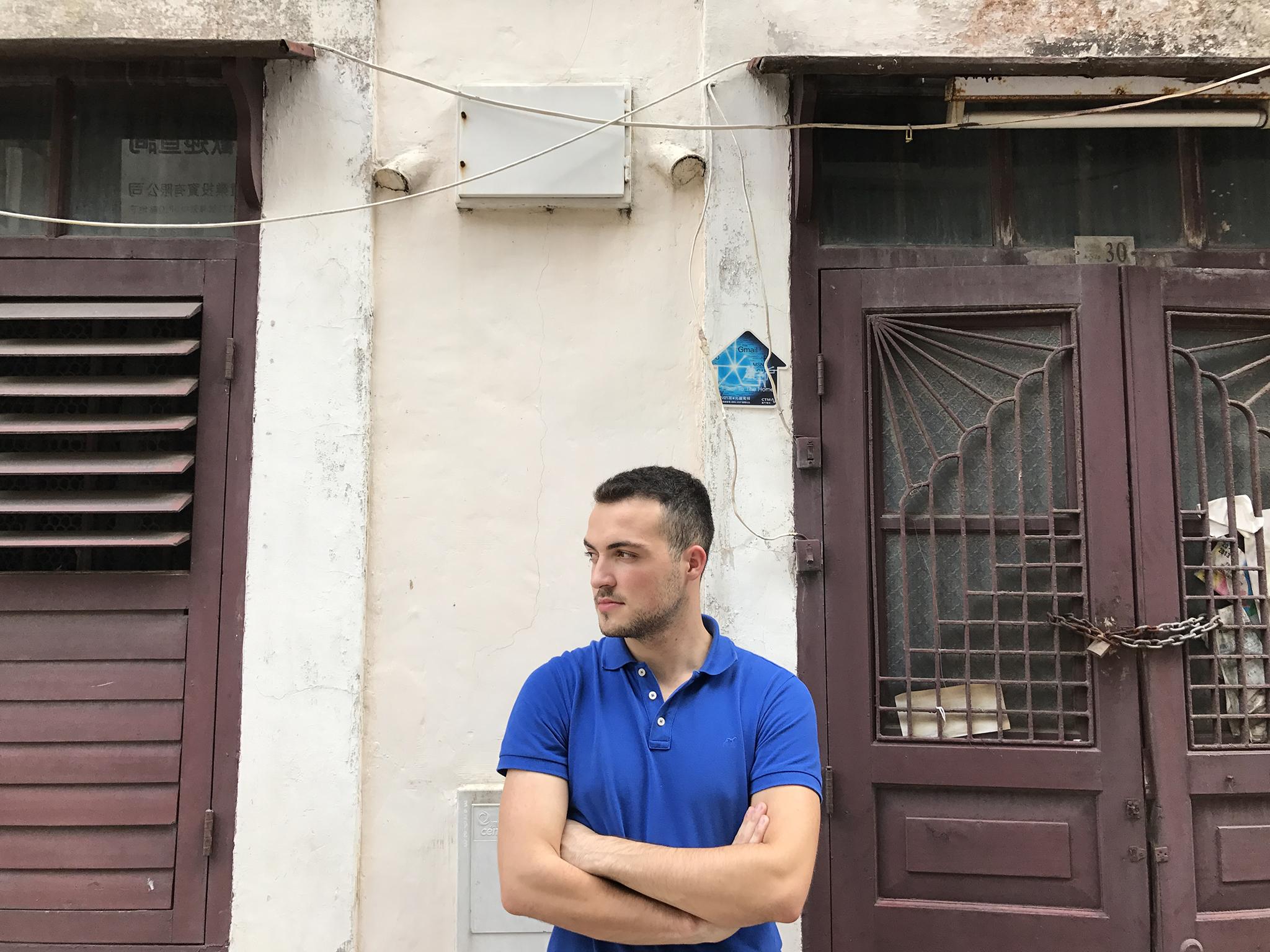Joel Brandão está a realizar um documentário sobre comunidades locais