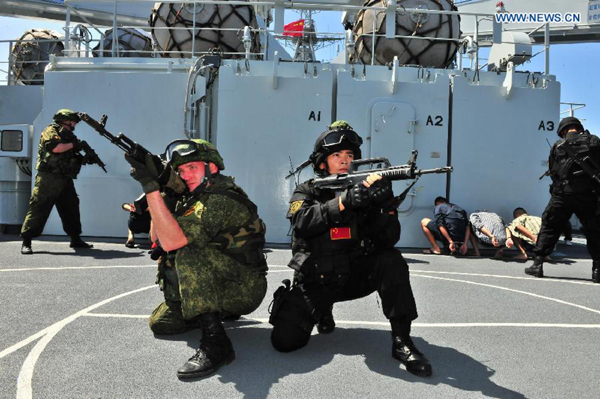 China e Rússia realizam exercício militar na Europa