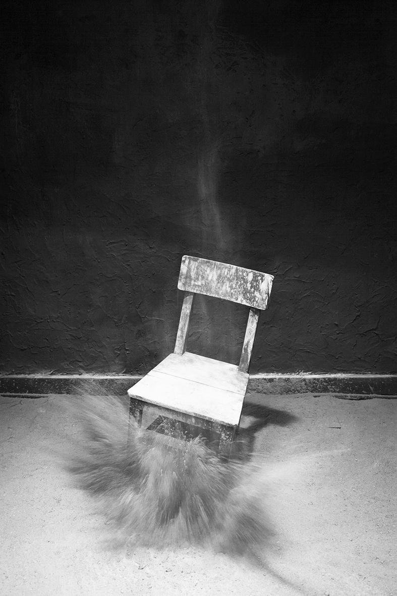 Cadeiras que não se sentam