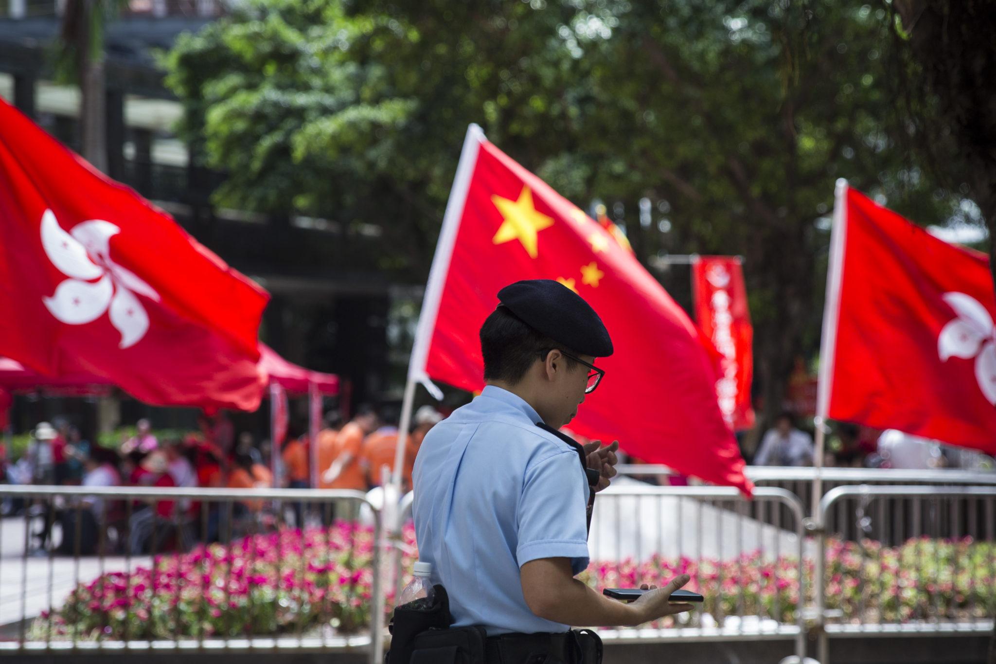 Hong Kong | Protesto pede direitos humanos, democracia e liberdade para Liu Xiaobo