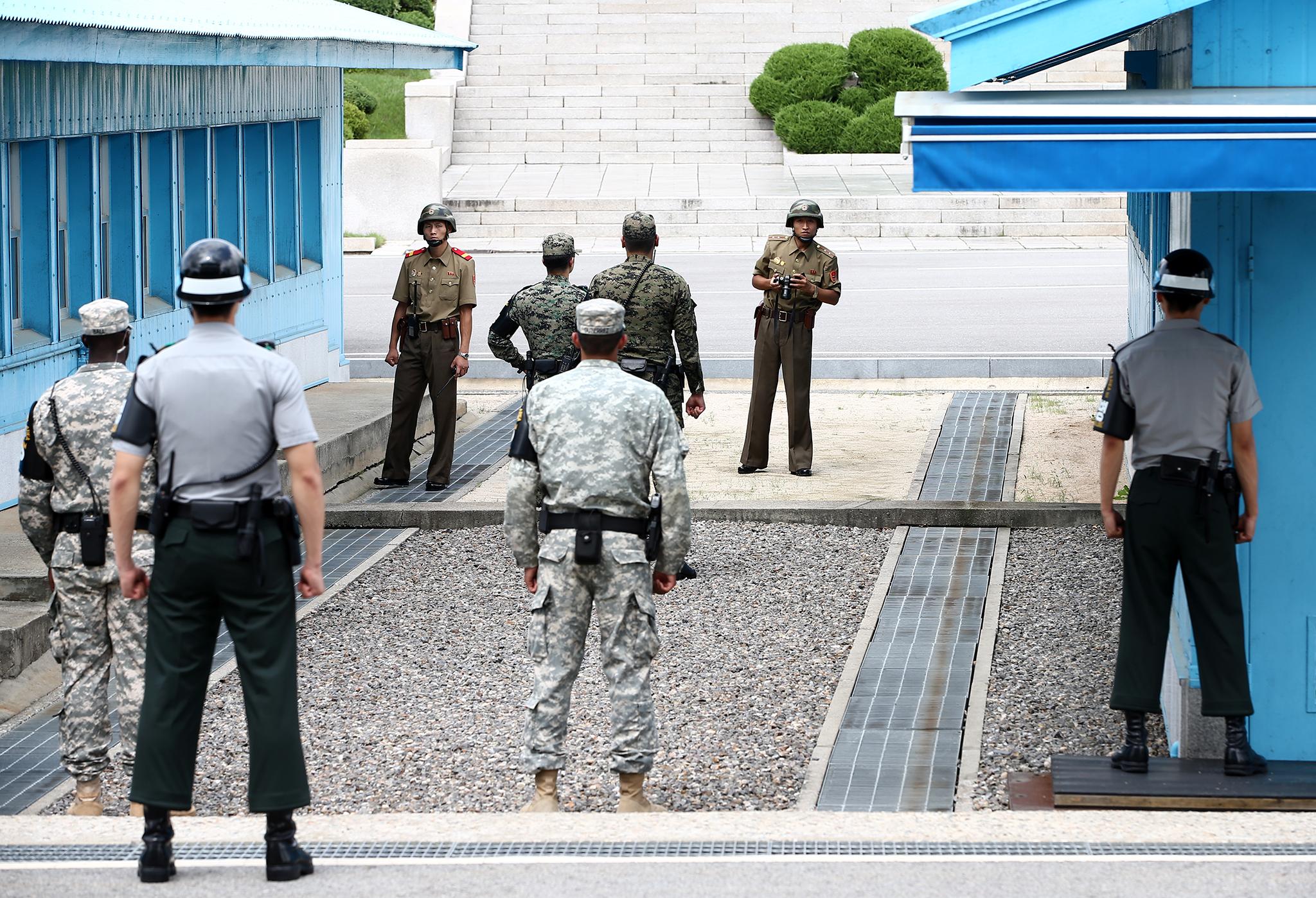 Coreia do Norte   Sul reafirma a vontade de paz. Estados Unidos tentam acabar com exportações