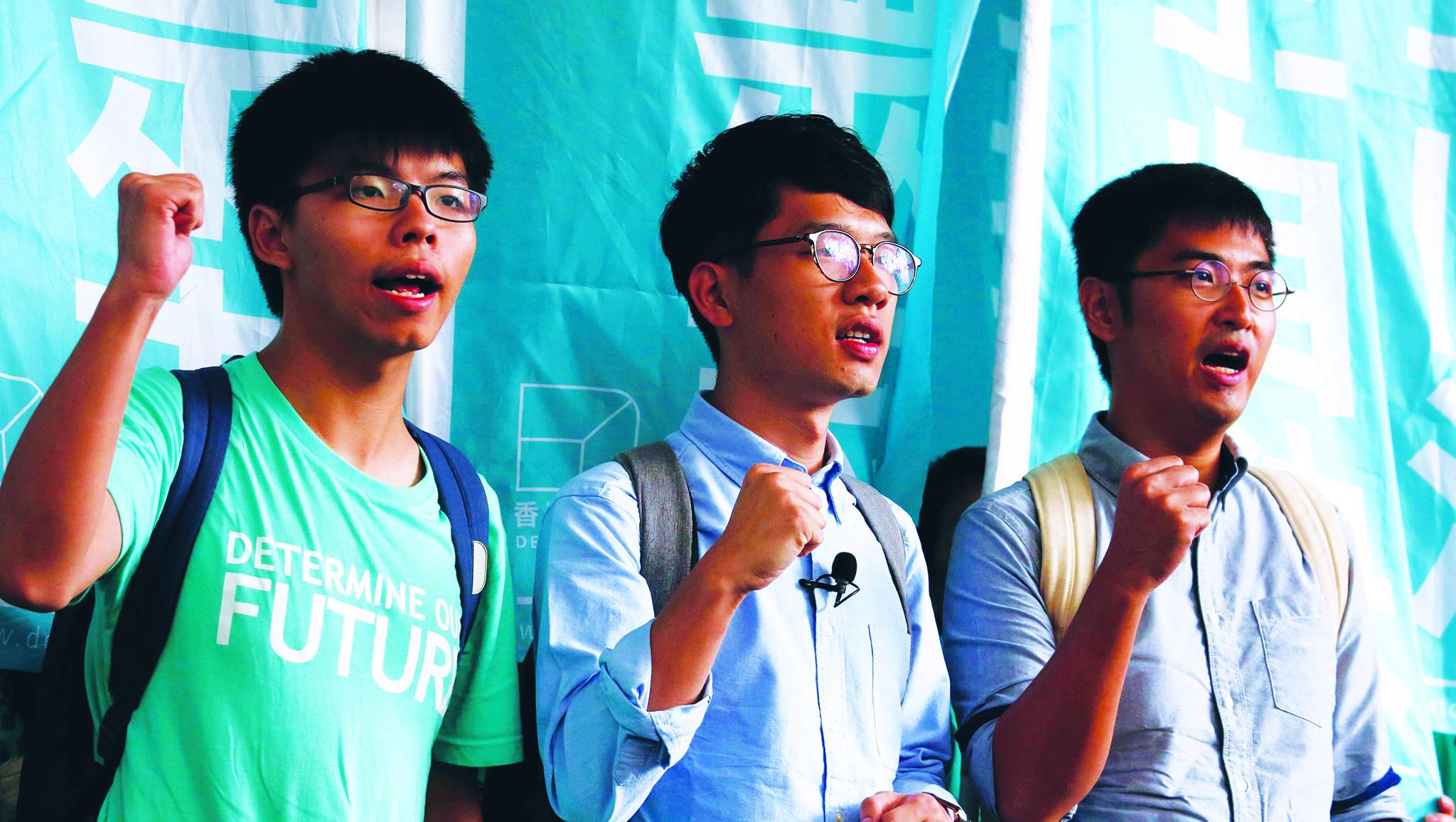 Hong Kong   Prisão de activistas gera novo protesto e criticas de ONG