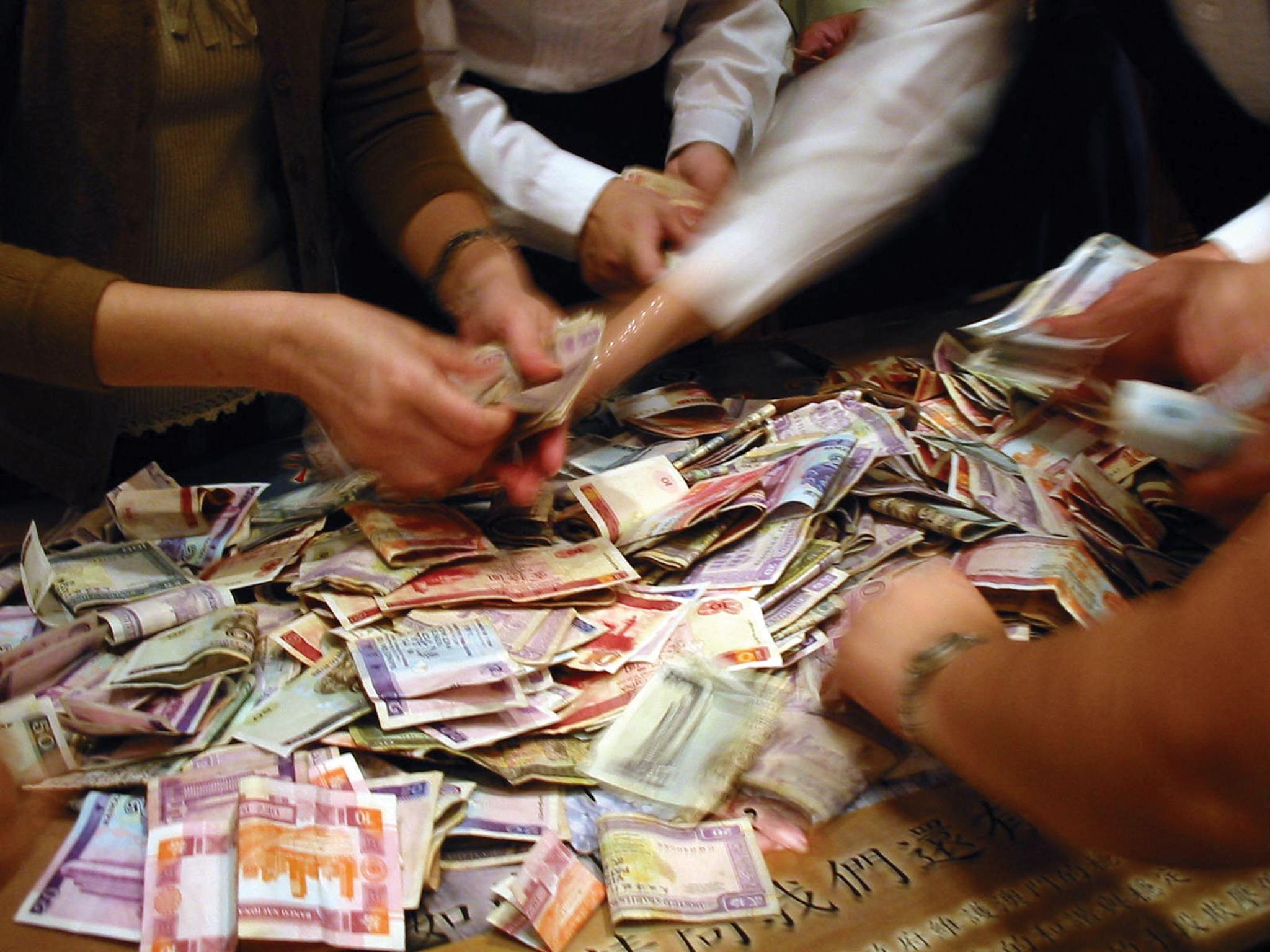 Reserva Financeira de Macau com rentabilidade de 4,4%até Junho
