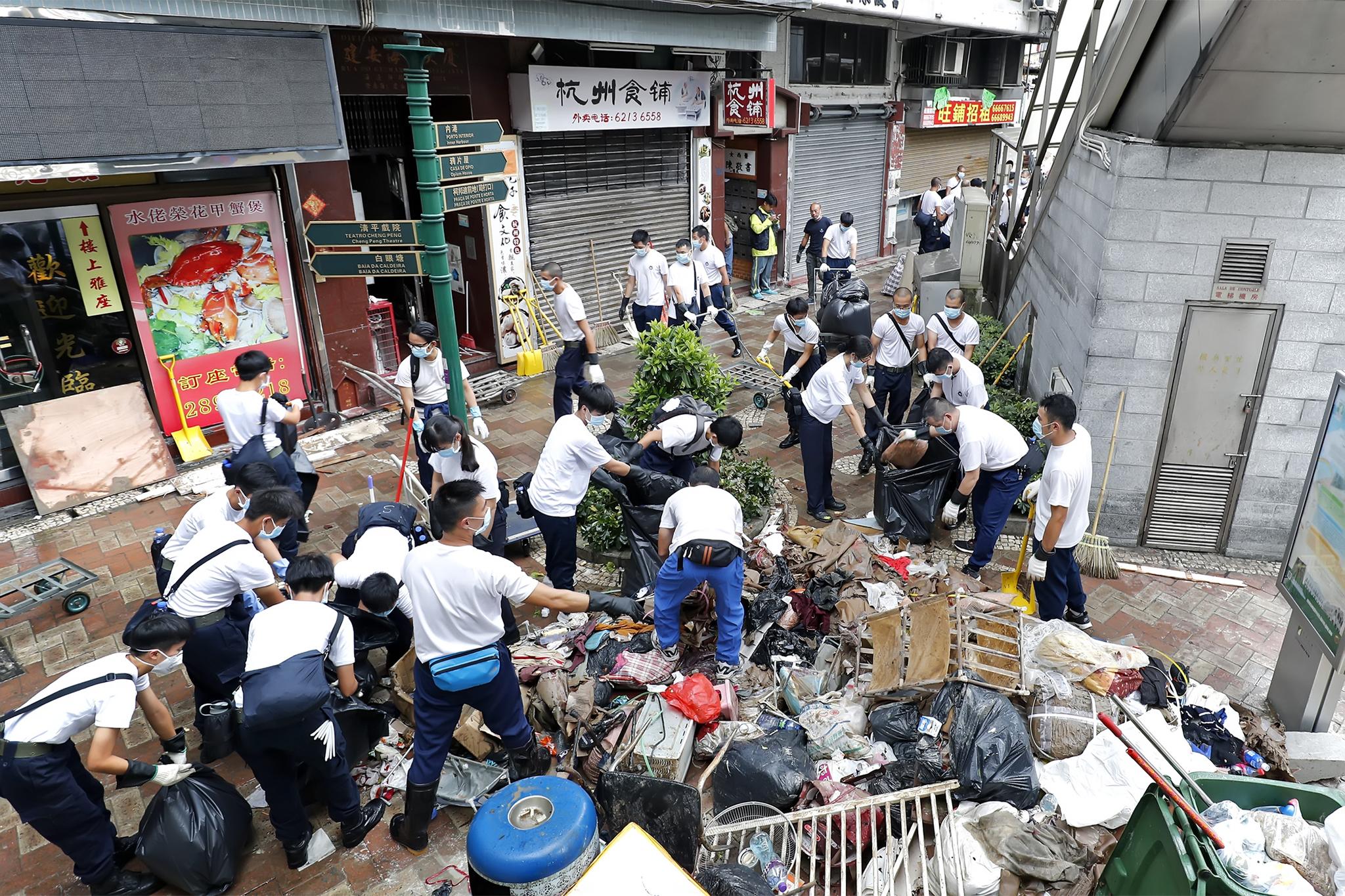 Tufão Hato | Mais de cem pessoas participaram em consulta pública