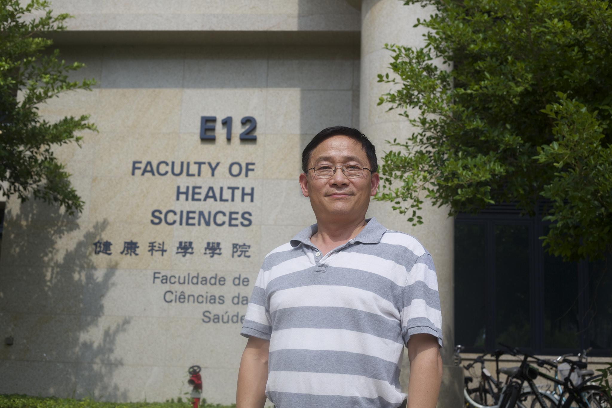 Entrevista | Ren-He Xu, professor da Faculdade de Ciências da Saúde da Universidade de Macau