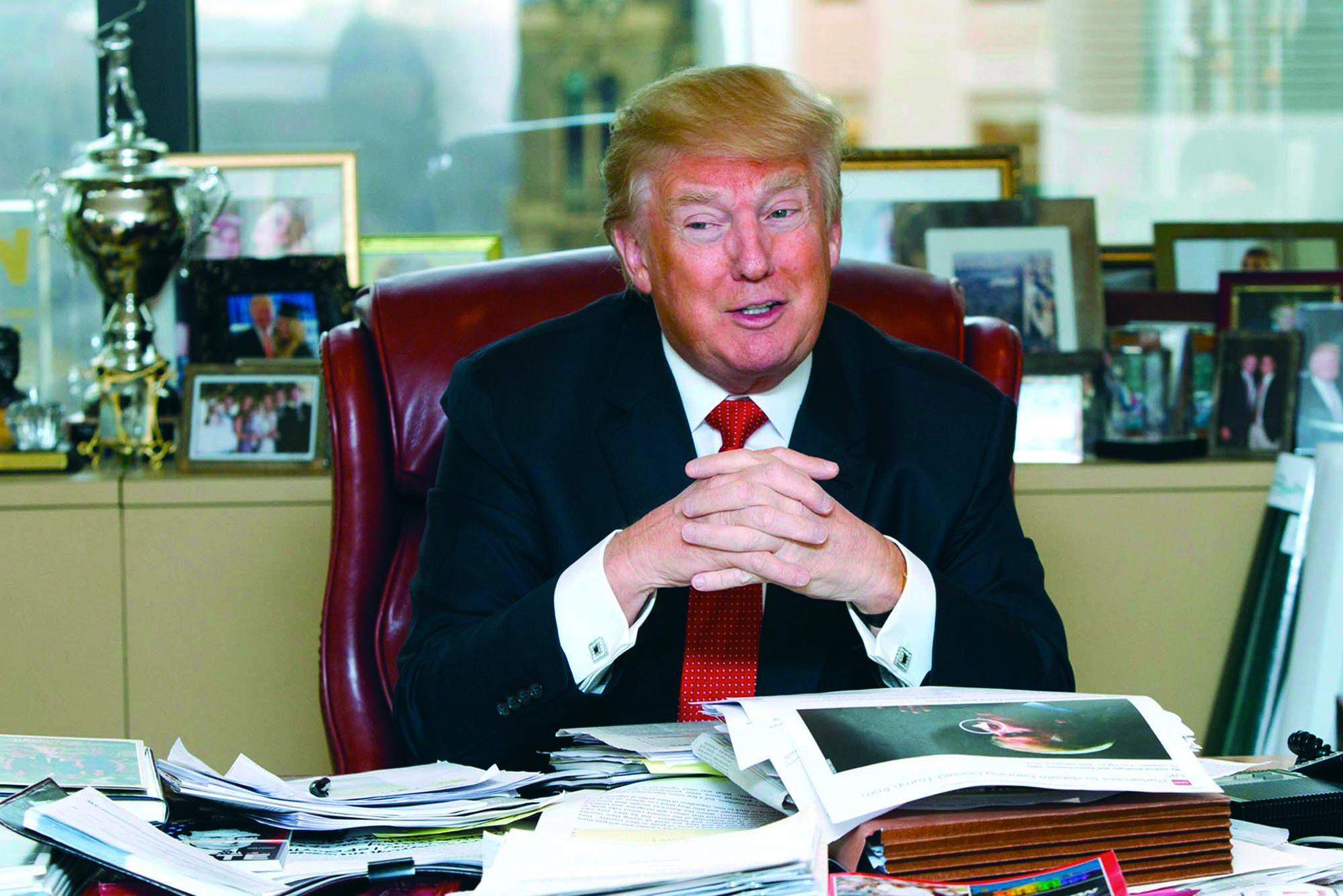 """Registo da marca """"Trump"""" sem aplicação concreta"""