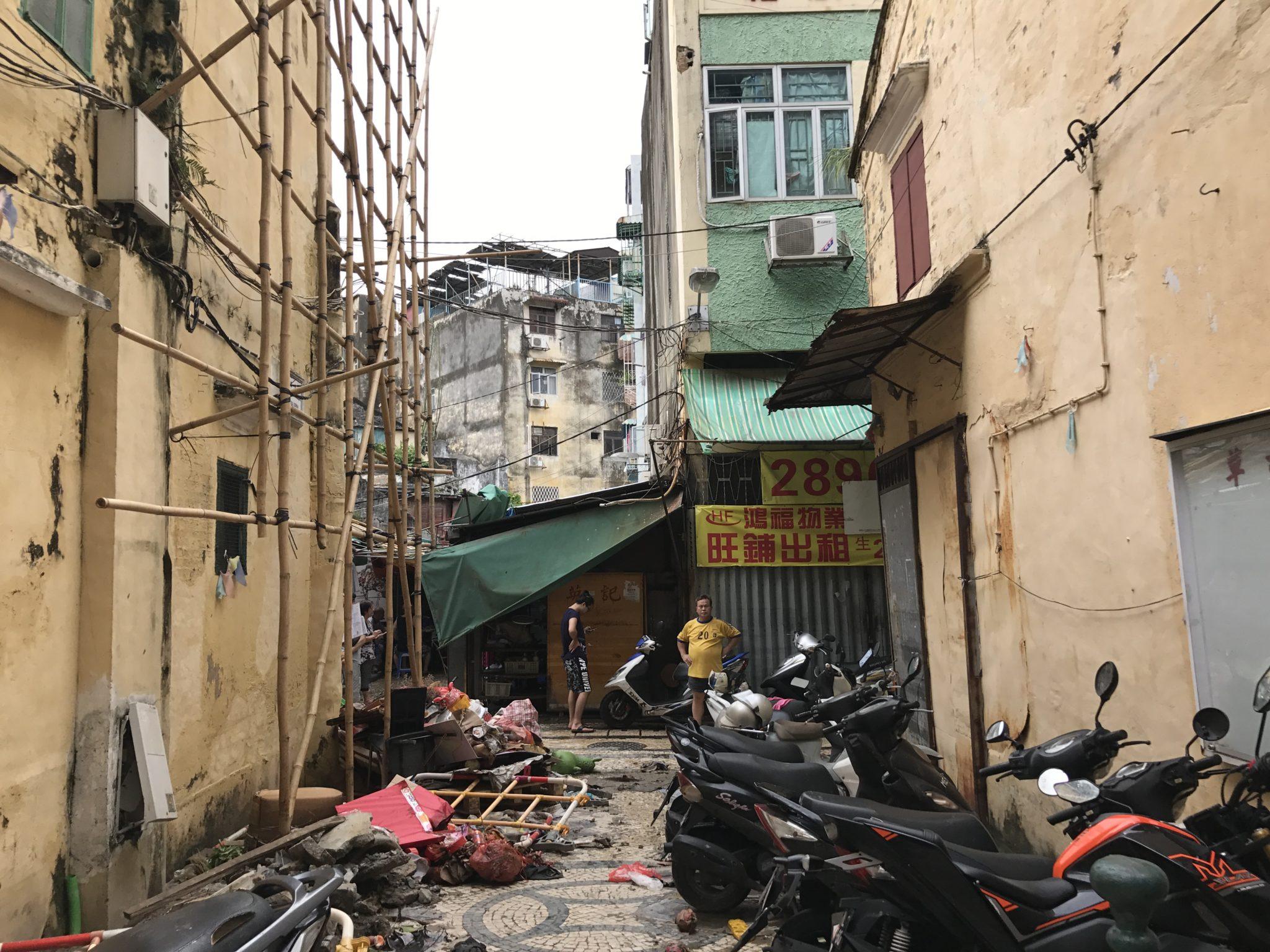 Tufão Mangkhut | Prejuízos avaliados em 1,55 mil milhões de patacas