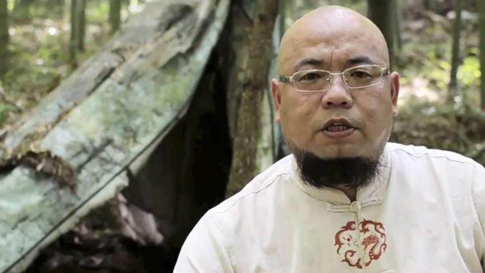 Protesto em Hong Kong pela libertação de 'blogger' Wu Gan