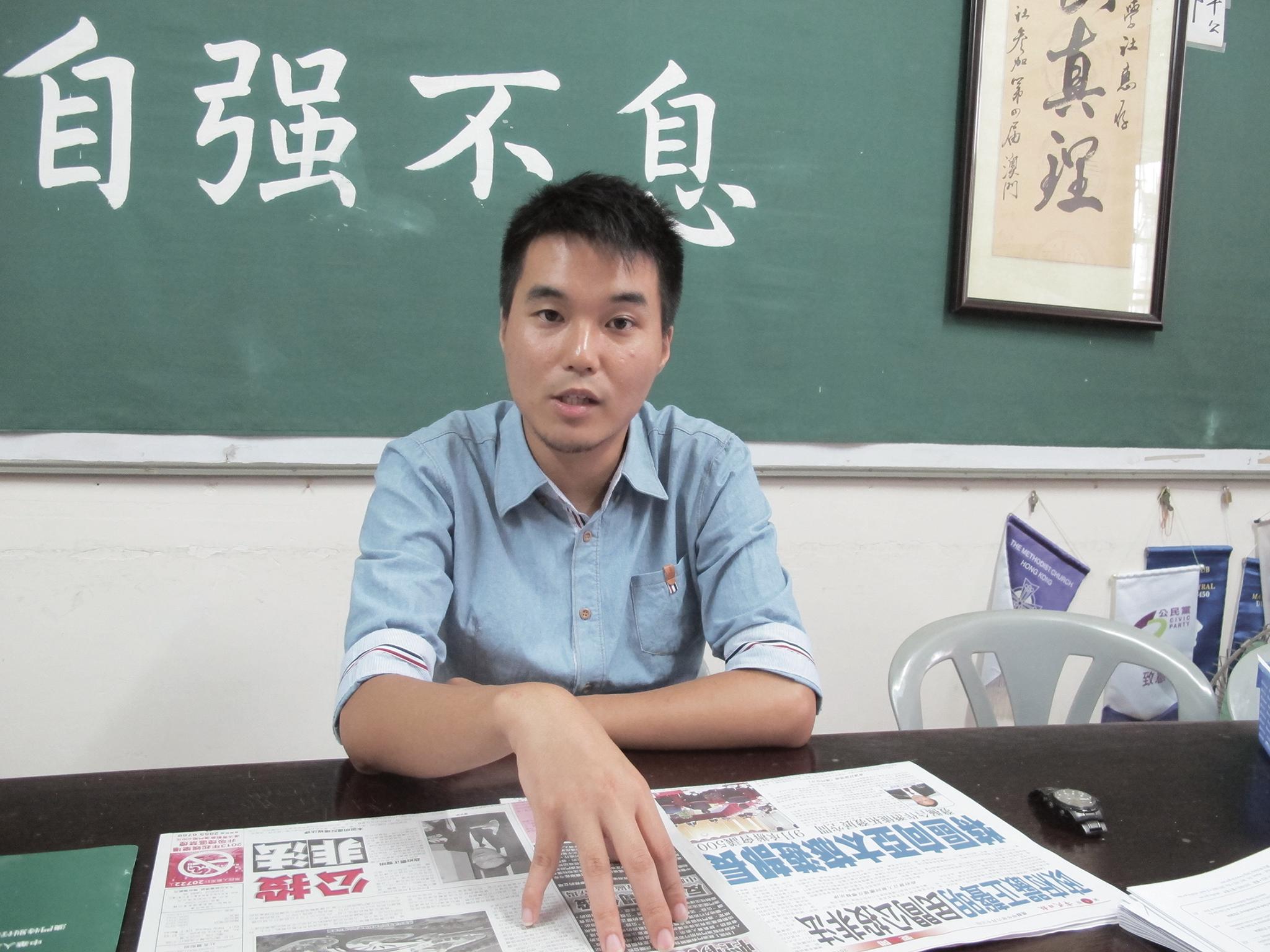 Eleições   Sulu Sou, o jovem rosto do campo pró-democrata