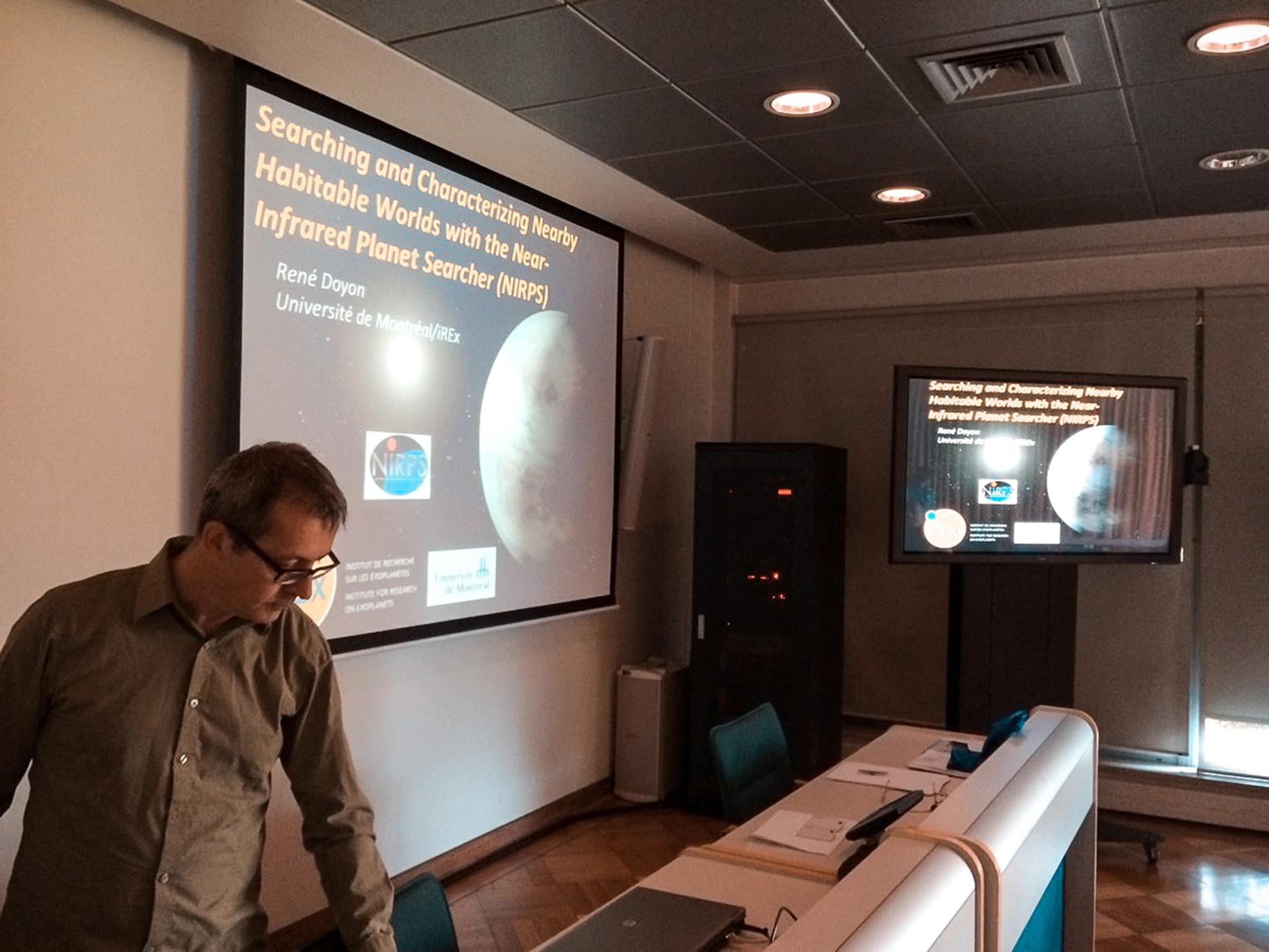 Novo instrumento para detectar planetas potencialmente habitáveis