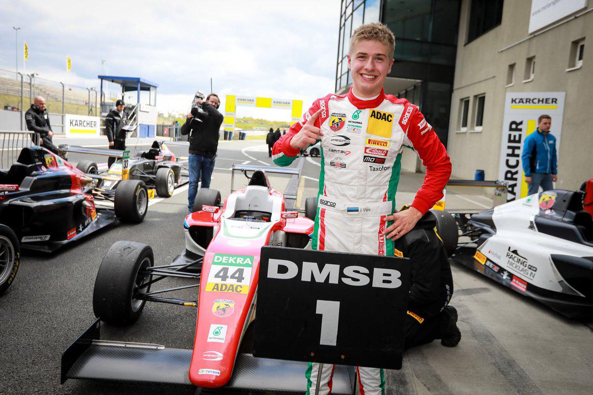 Juri Vips venceu Campeonato Alemão de Fórmula 4