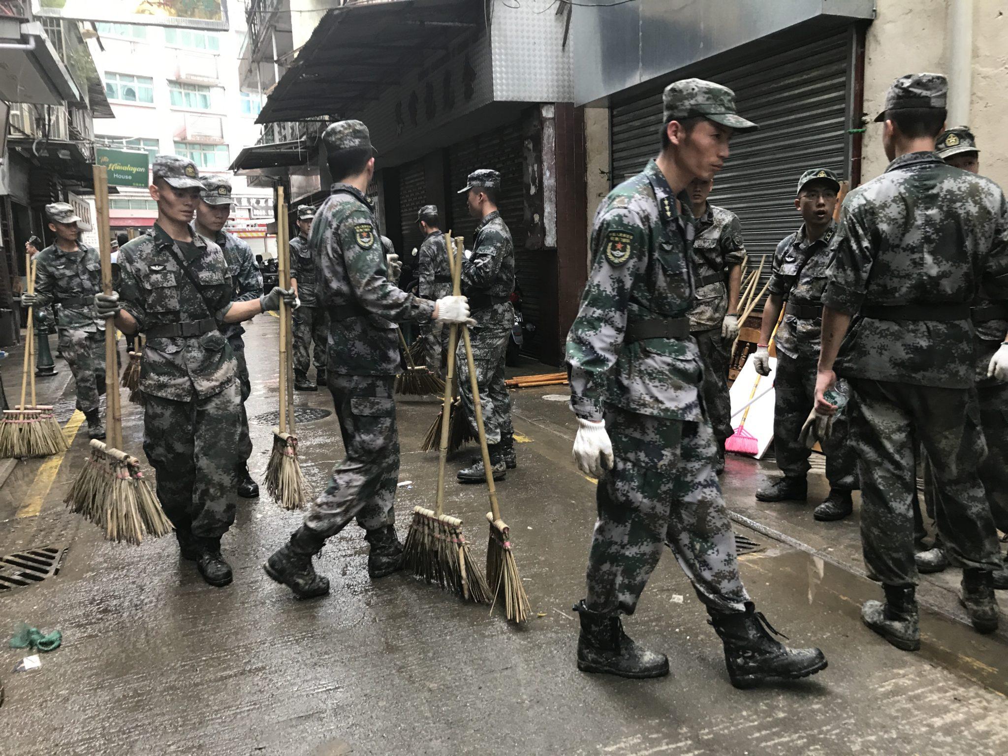 Rumor falso nas redes sociais da China diz que exército chinês saqueou Macau