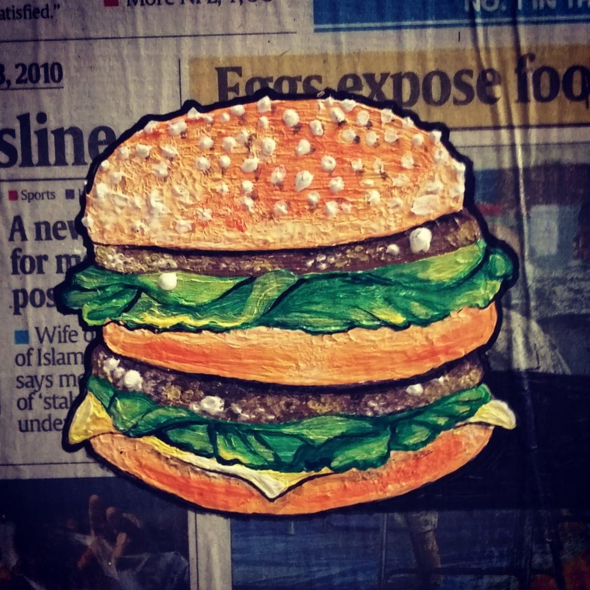 A diplomacia do hambúrguer