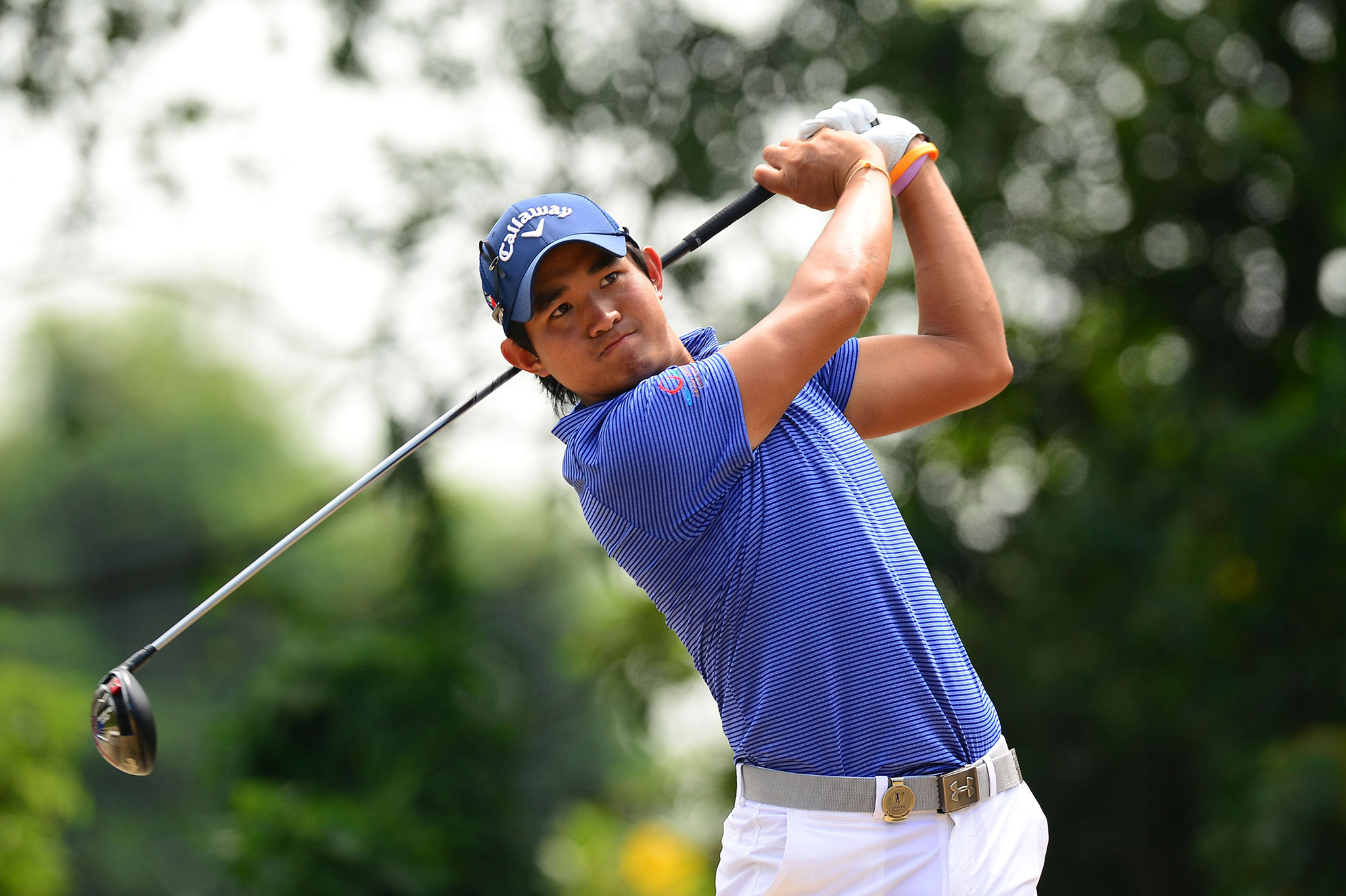 Golfe regressa na Coreia do Sul com máscaras e distância entre atletas