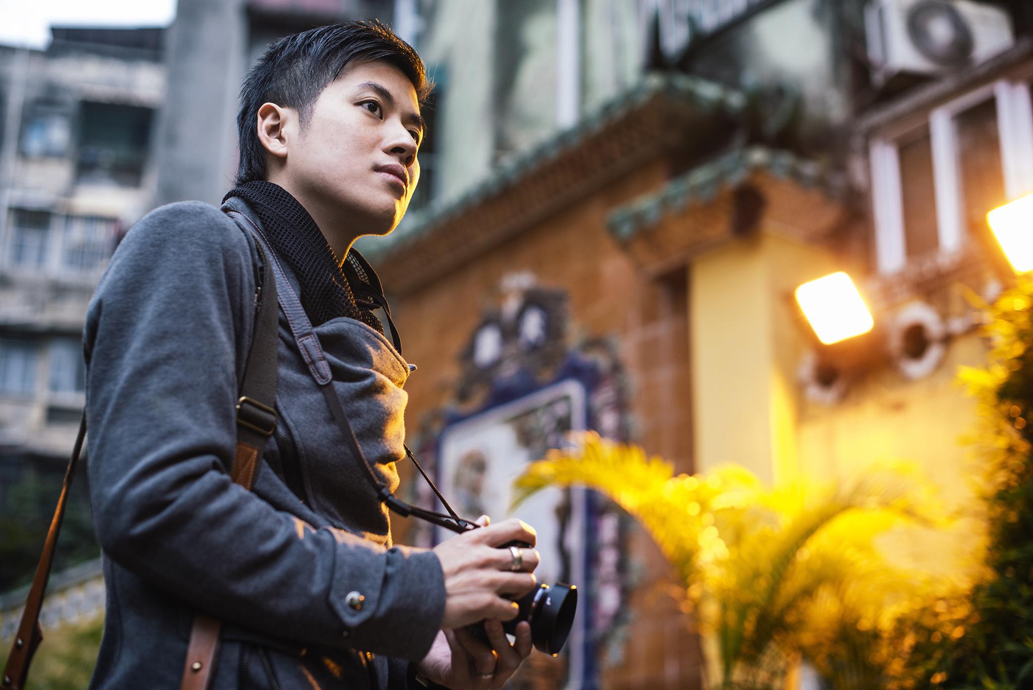 """António Leong, fotógrafo amador, """"Tirar fotografias é como escrever um diário"""""""