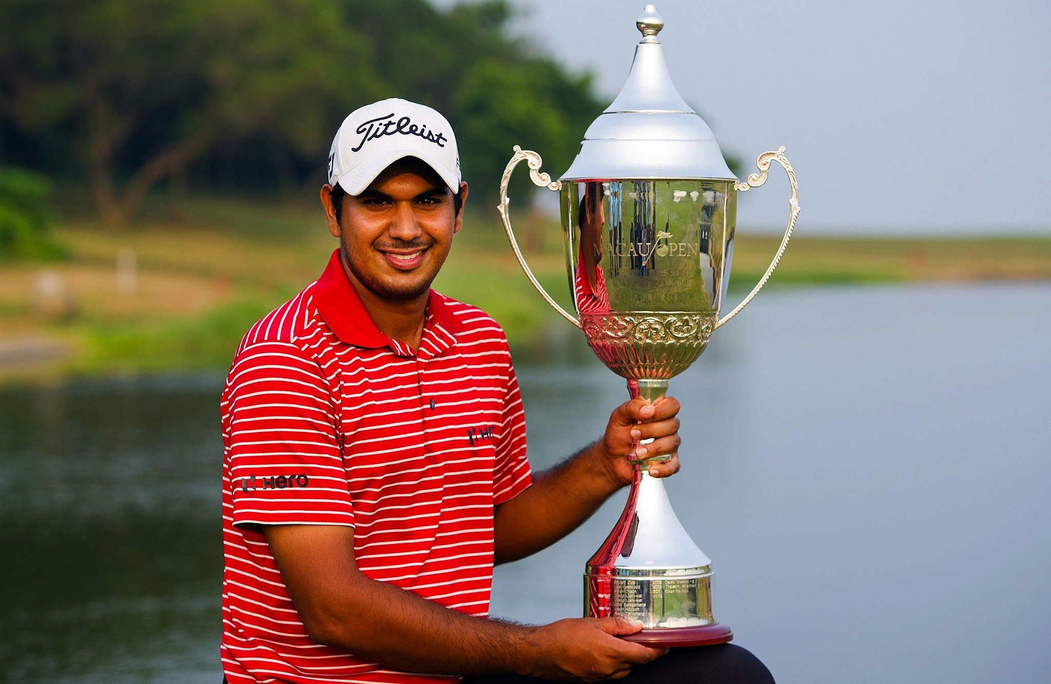 Gaganjeet Bhullar conquista Macau Open de golfe