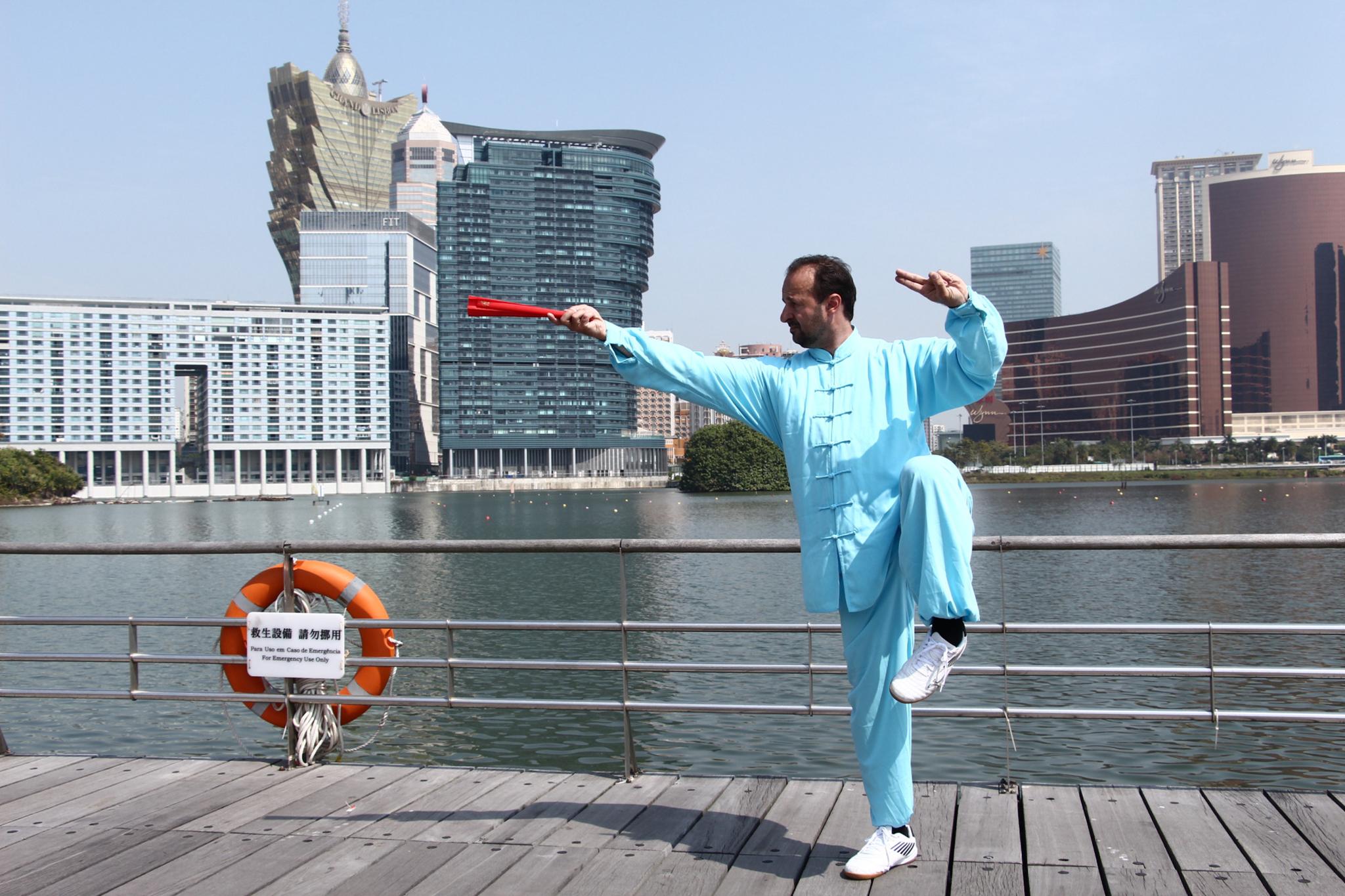Atleta de Macau aponta ao primeiro lugar no Open de Taekwondo