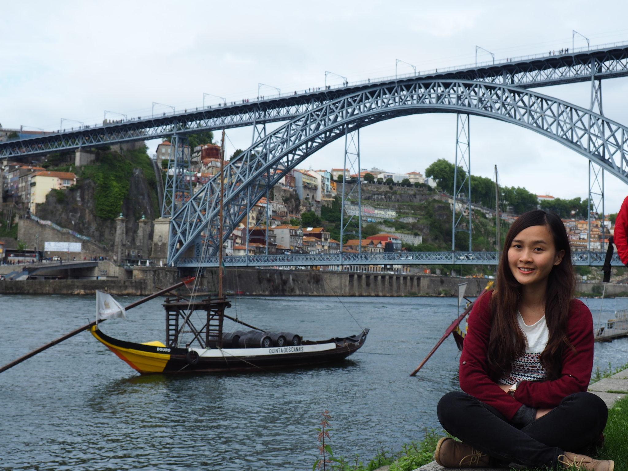 """Natália Io, estudante de português:""""Gosto muito de bacalhau com natas"""""""