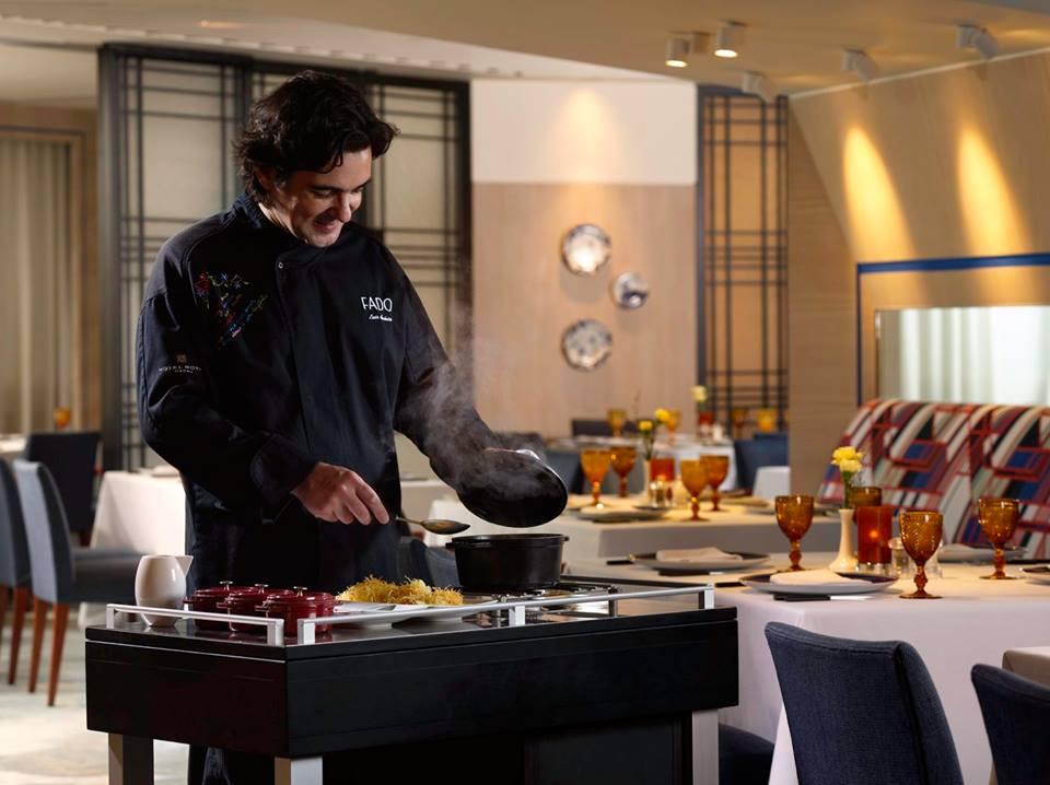 Restaurante Fado com novo menu marcado pelos paladares da quadra festiva
