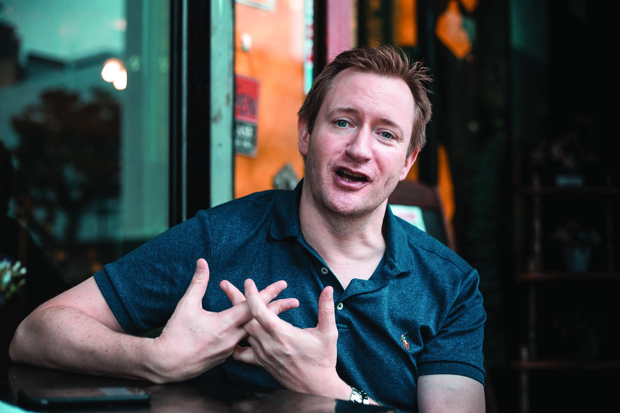 """Mike Goodridge, director do Festival Internacional de Cinema: """"Acho que as pessoas nos estão a levar a sério"""""""