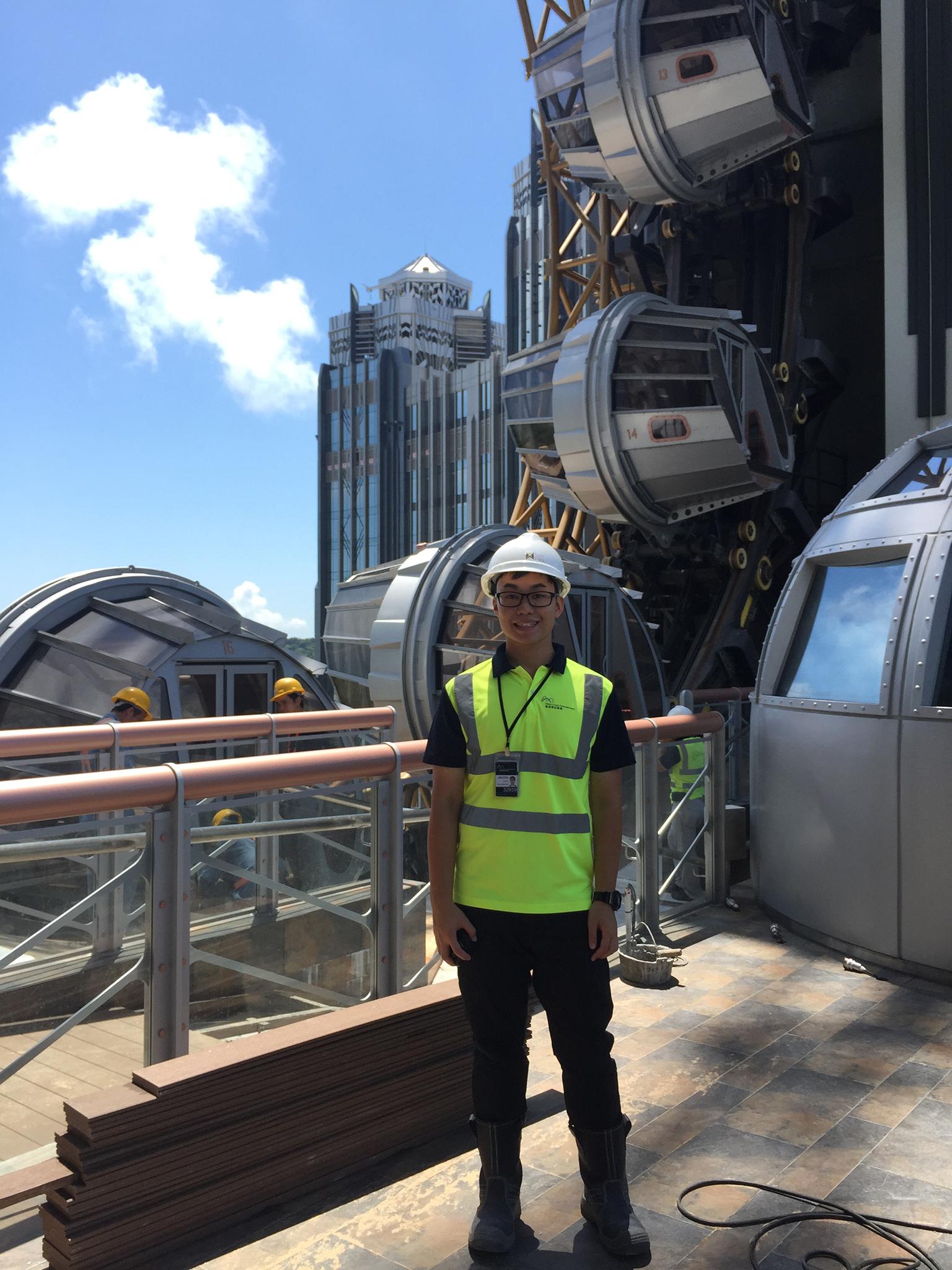 Perfil | Jacinto Ng, engenheiro civil
