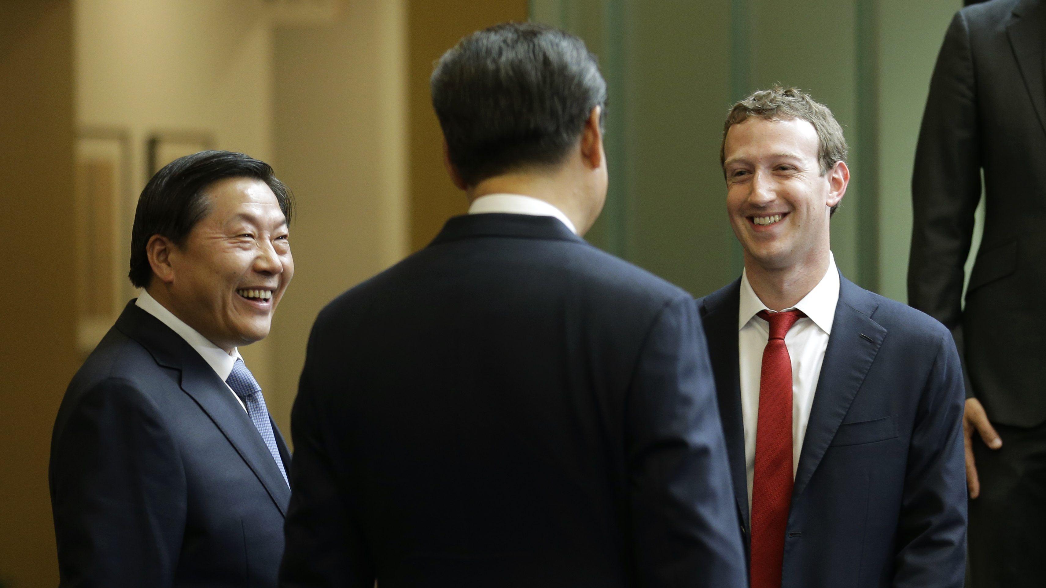 Zuckerberg e director da Apple reúnem-se com Xi Jinping