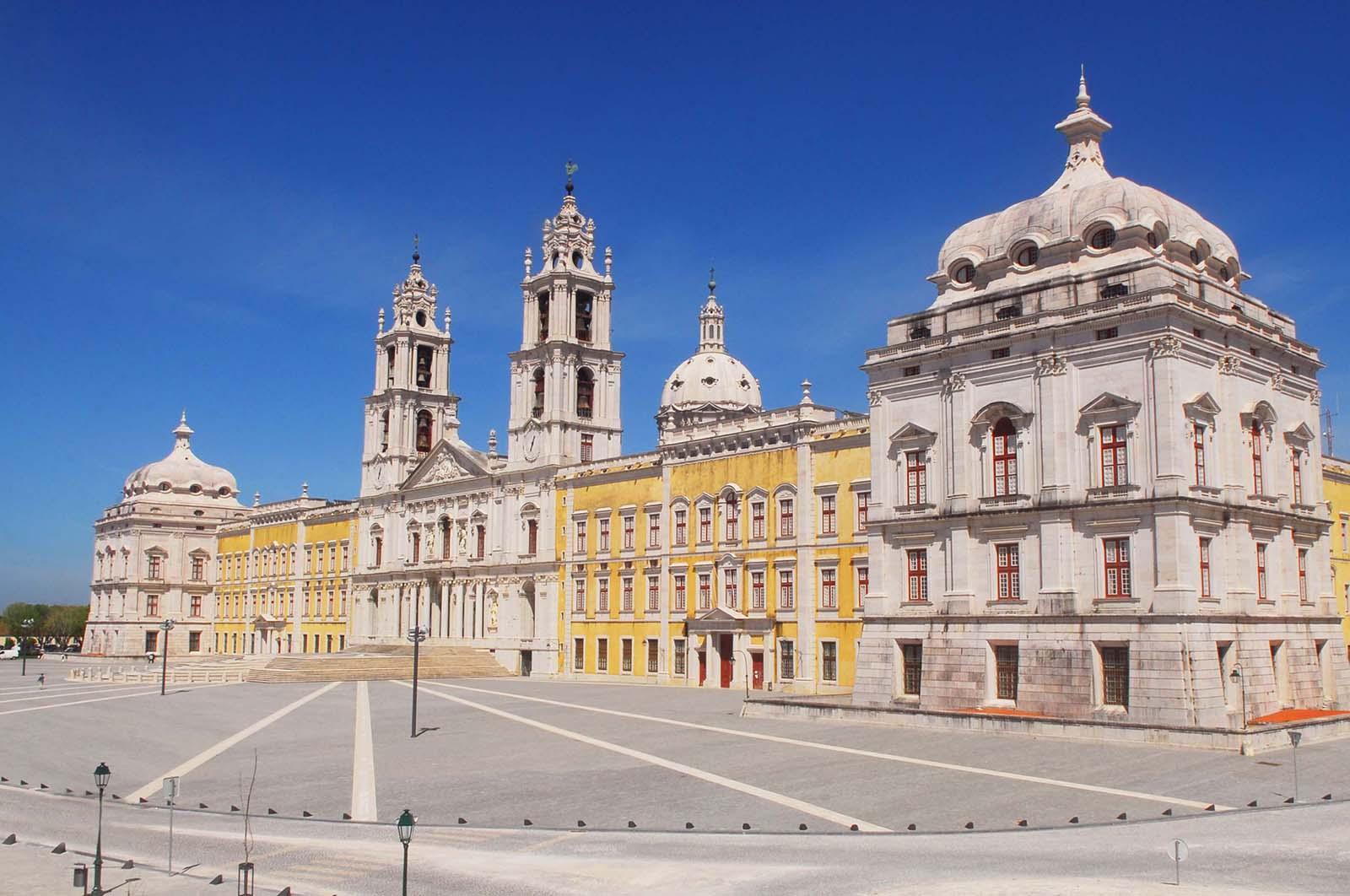 Palácio de Mafra e Santuário do Bom Jesus distinguidos pela UNESCO