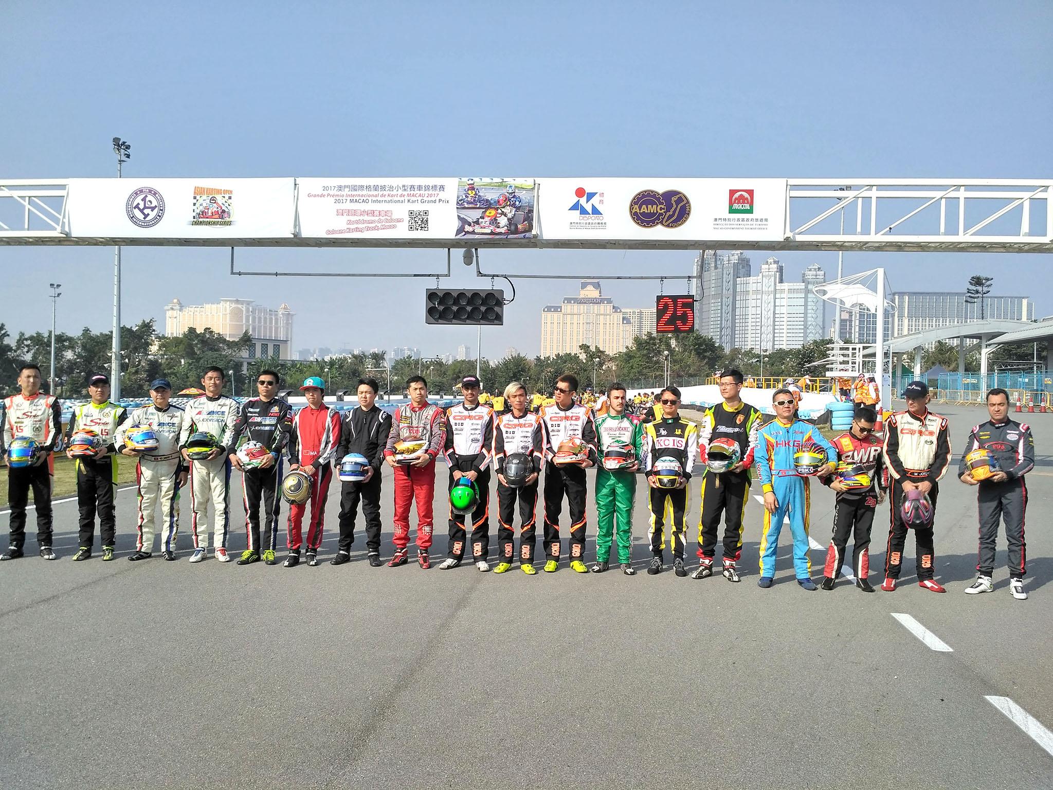 Piccini dominou Taça de Macau de Karting