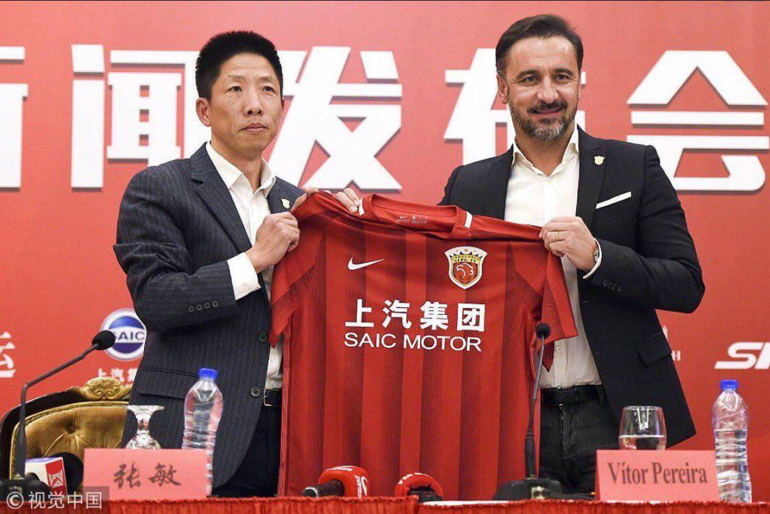 Shanghai SIPG : Vítor Pereira substitui André Villas-Boas