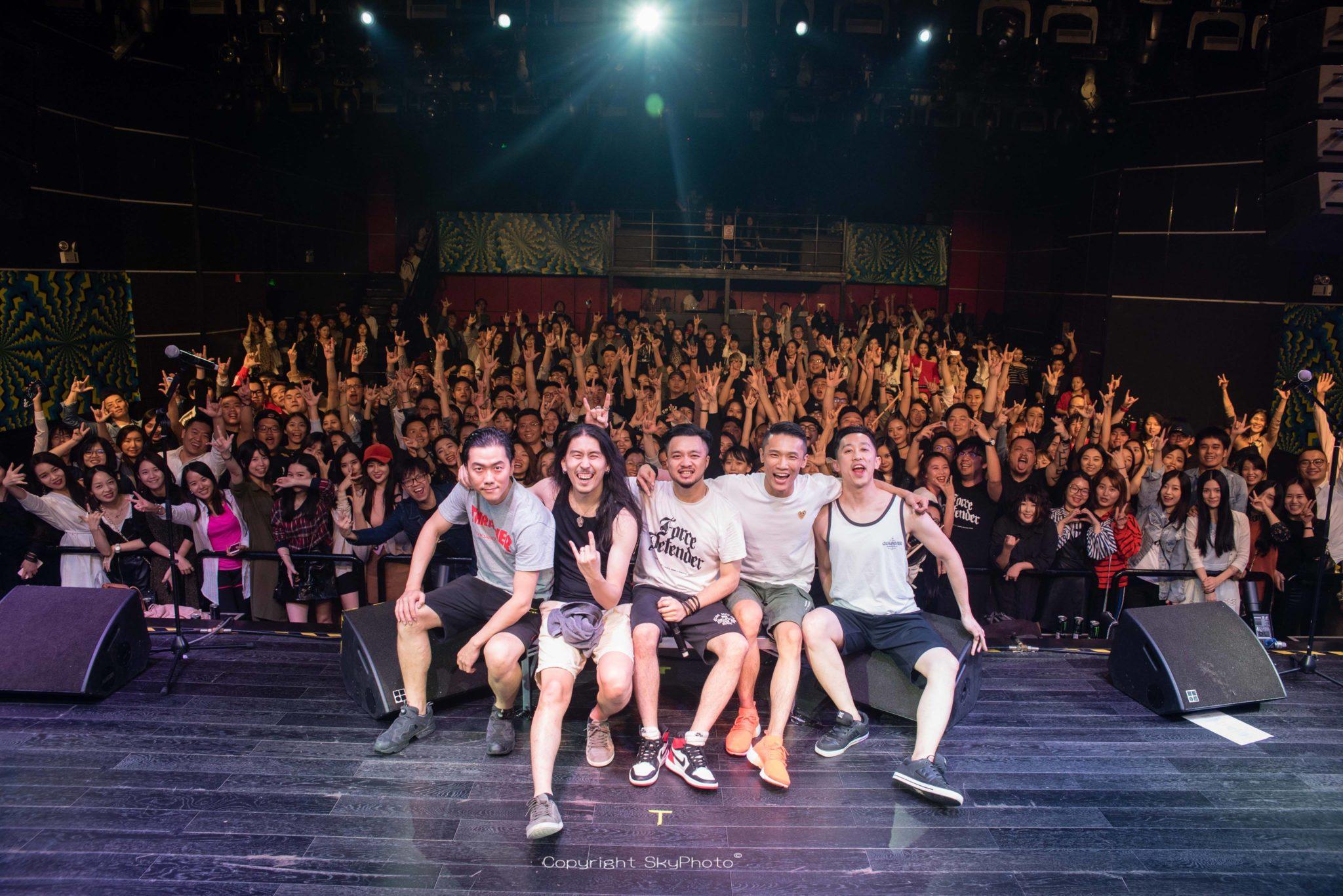 Concerto   Force Defender trazem o heavy metal de Shenzhen ao palco do LMA