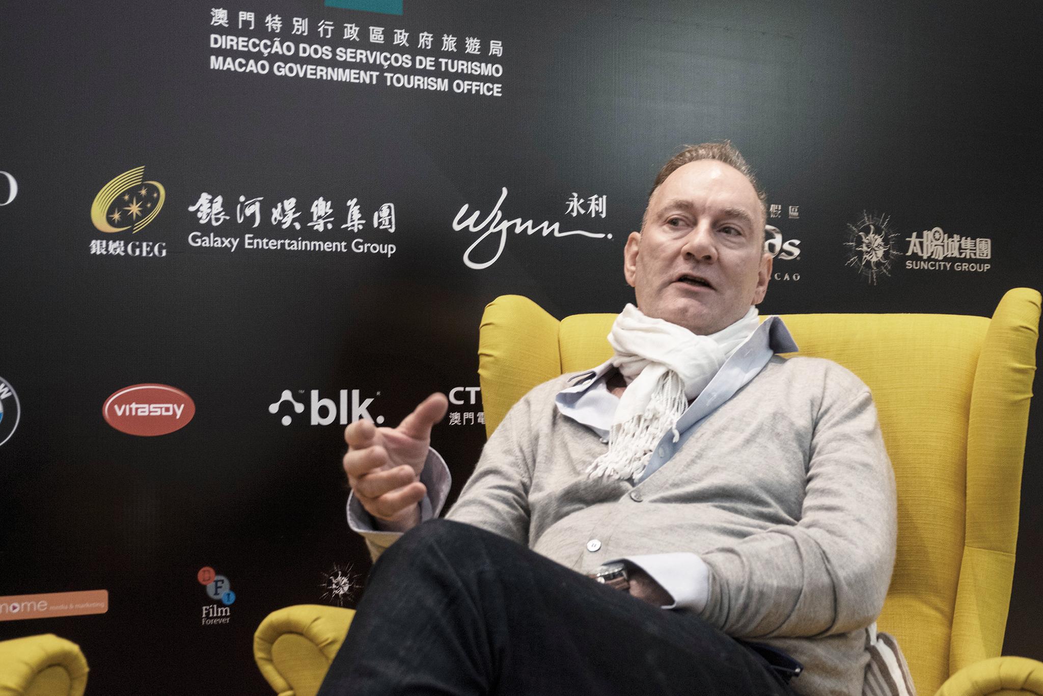 """Lawrence Osborne, escritor e júri do IFFAM:""""Macau é única"""""""