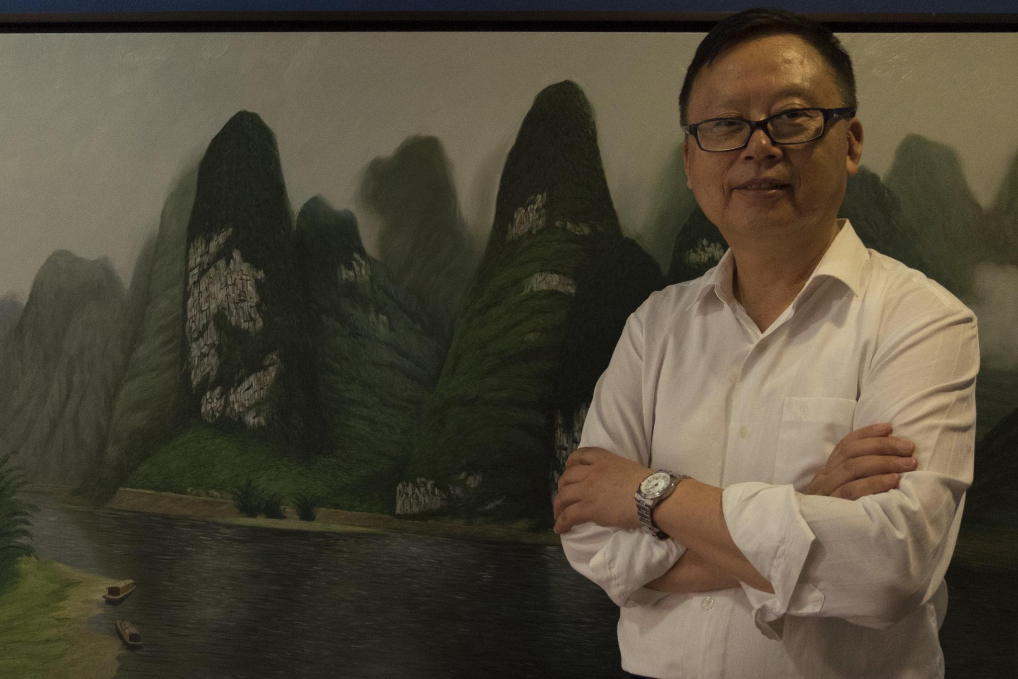 """Xiaojiang Yu, professor de ciências geológicas da Universidade de Sidney:""""O rio corria preto"""""""