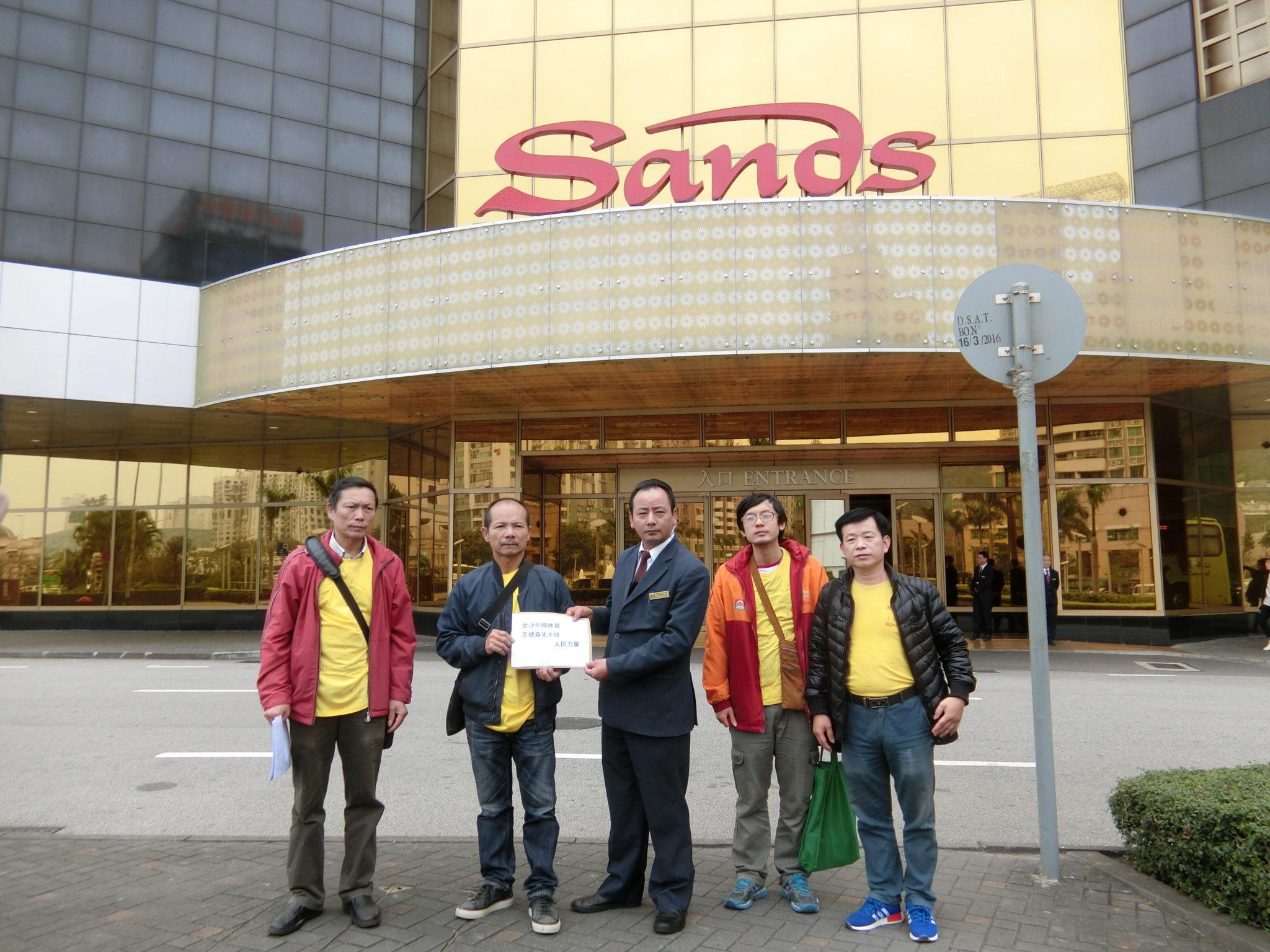 Salários | Poder do Povo pediu aumentos para funcionários da Sands