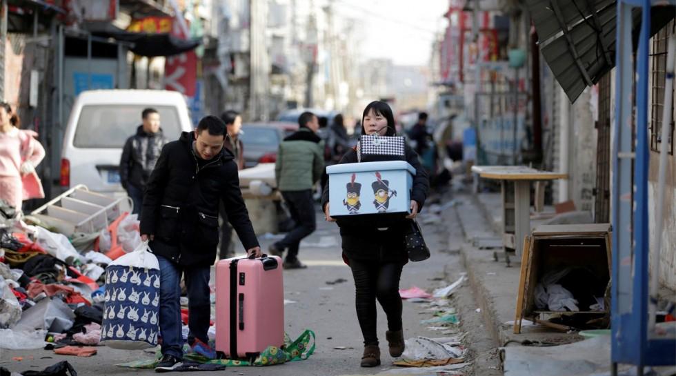 População de Pequim caiu pela primeira vez em 17 anos